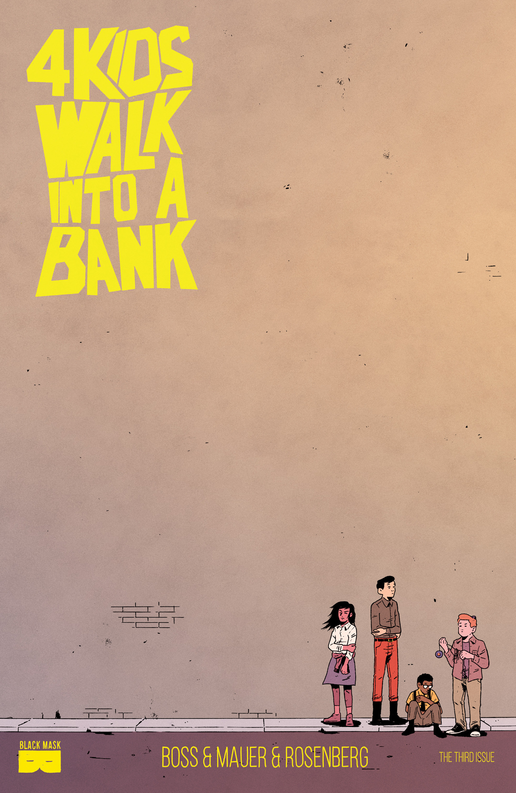 Read online 4 Kids Walk Into a Bank comic -  Issue #3 - 1