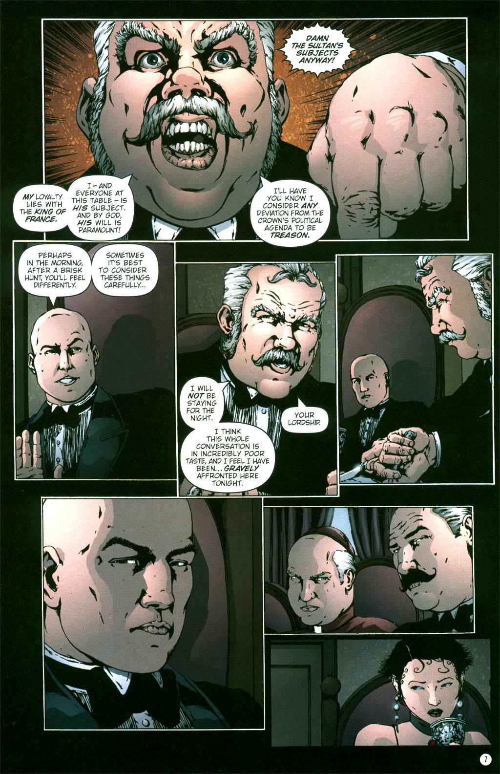 Read online Rex Mundi comic -  Issue #5 - 9