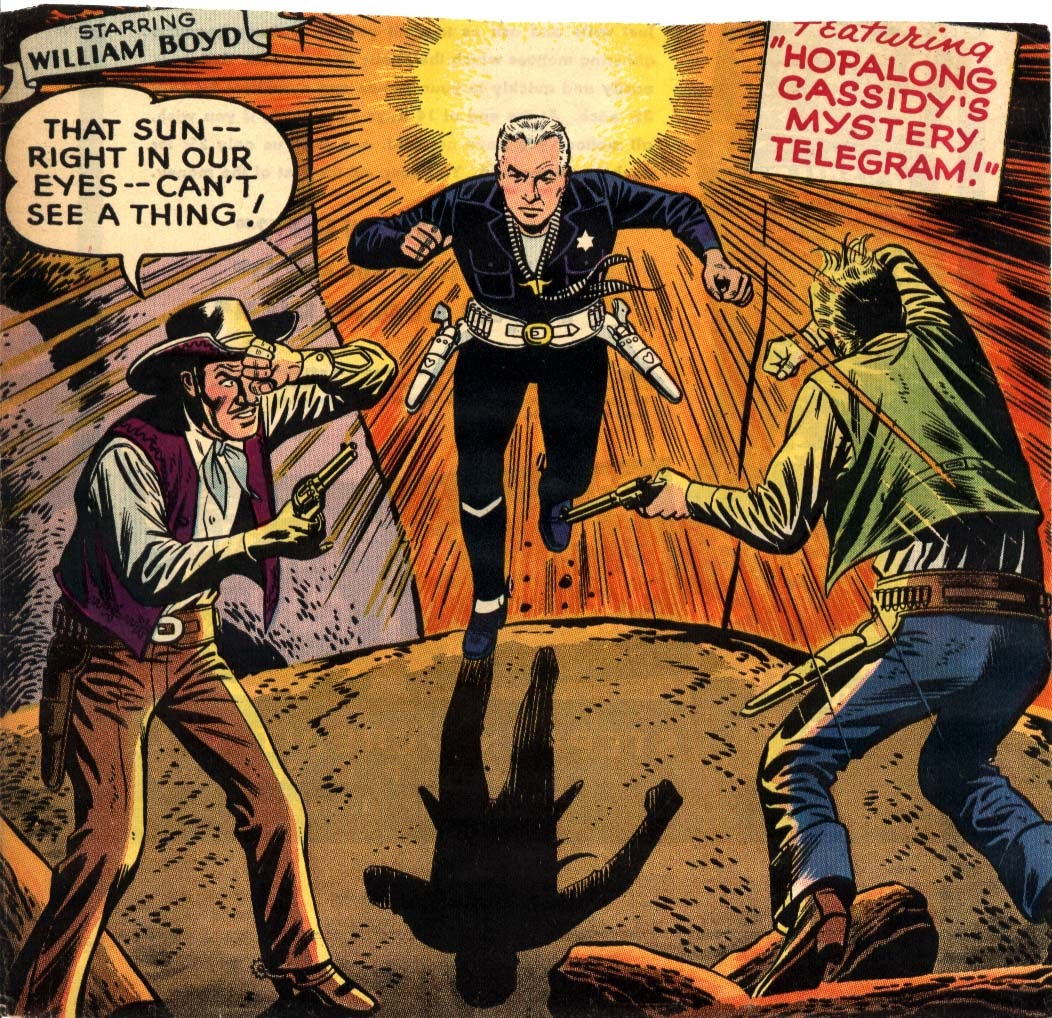 Hopalong Cassidy issue 109 - Page 1