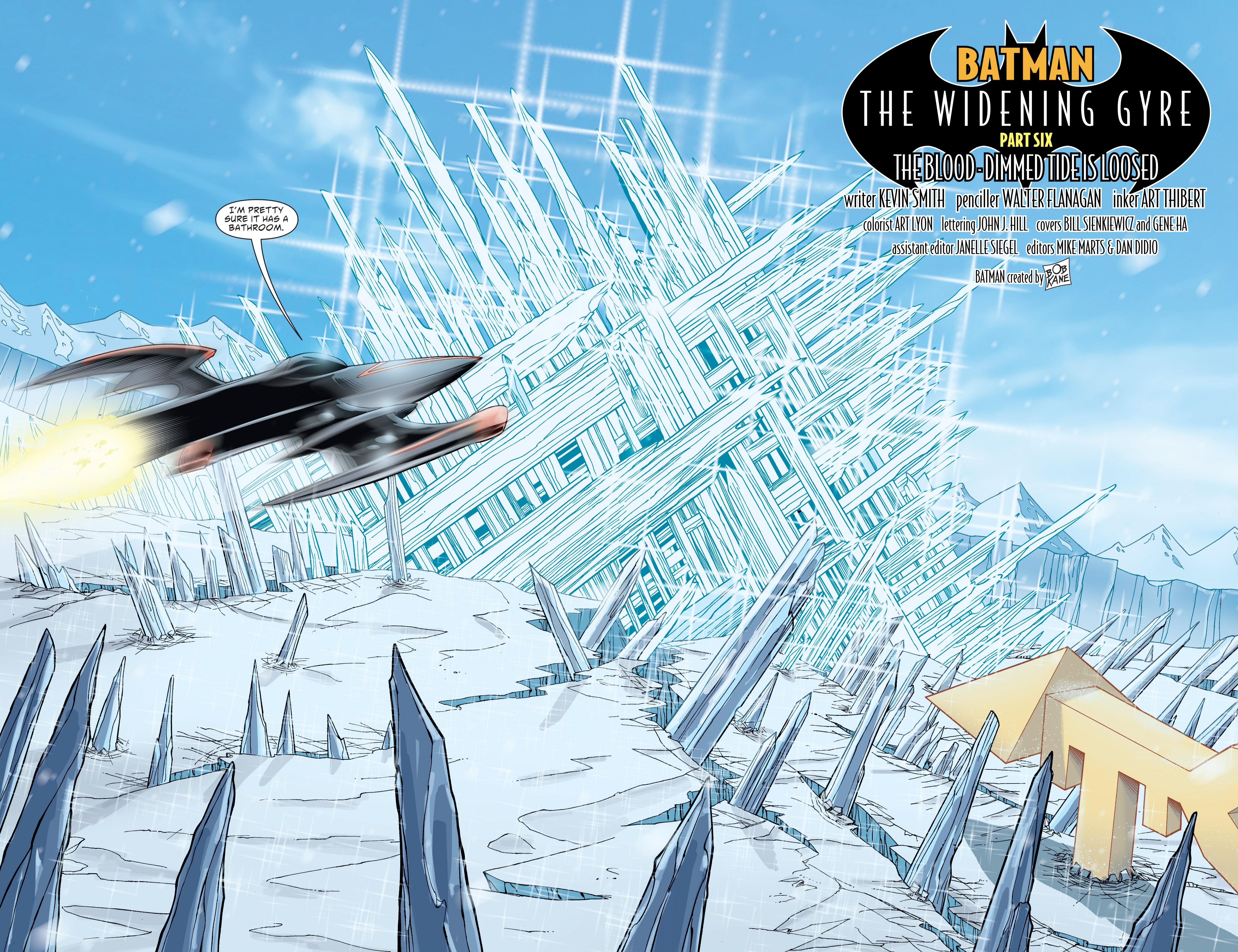 Read online Batman: The Widening Gyre comic -  Issue #6 - 4