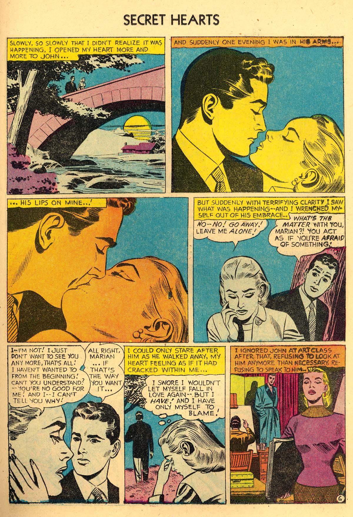 Read online Secret Hearts comic -  Issue #35 - 23