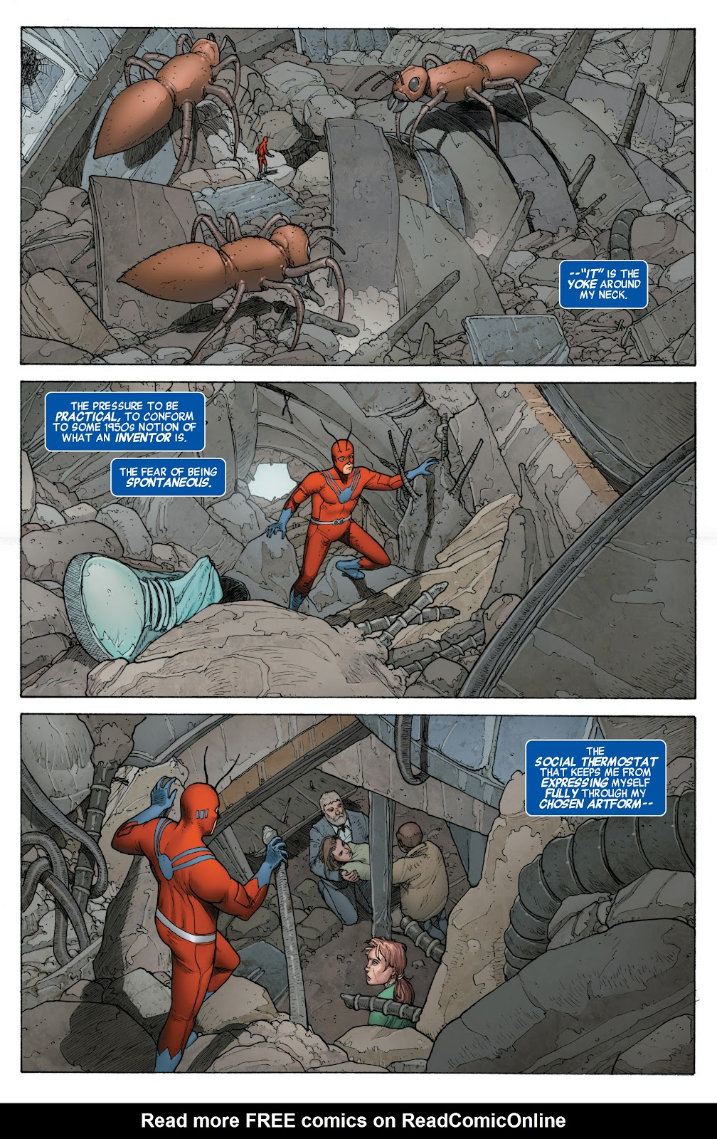 Read online Age of Ultron Companion comic -  Issue # TPB (Part 2) - 100