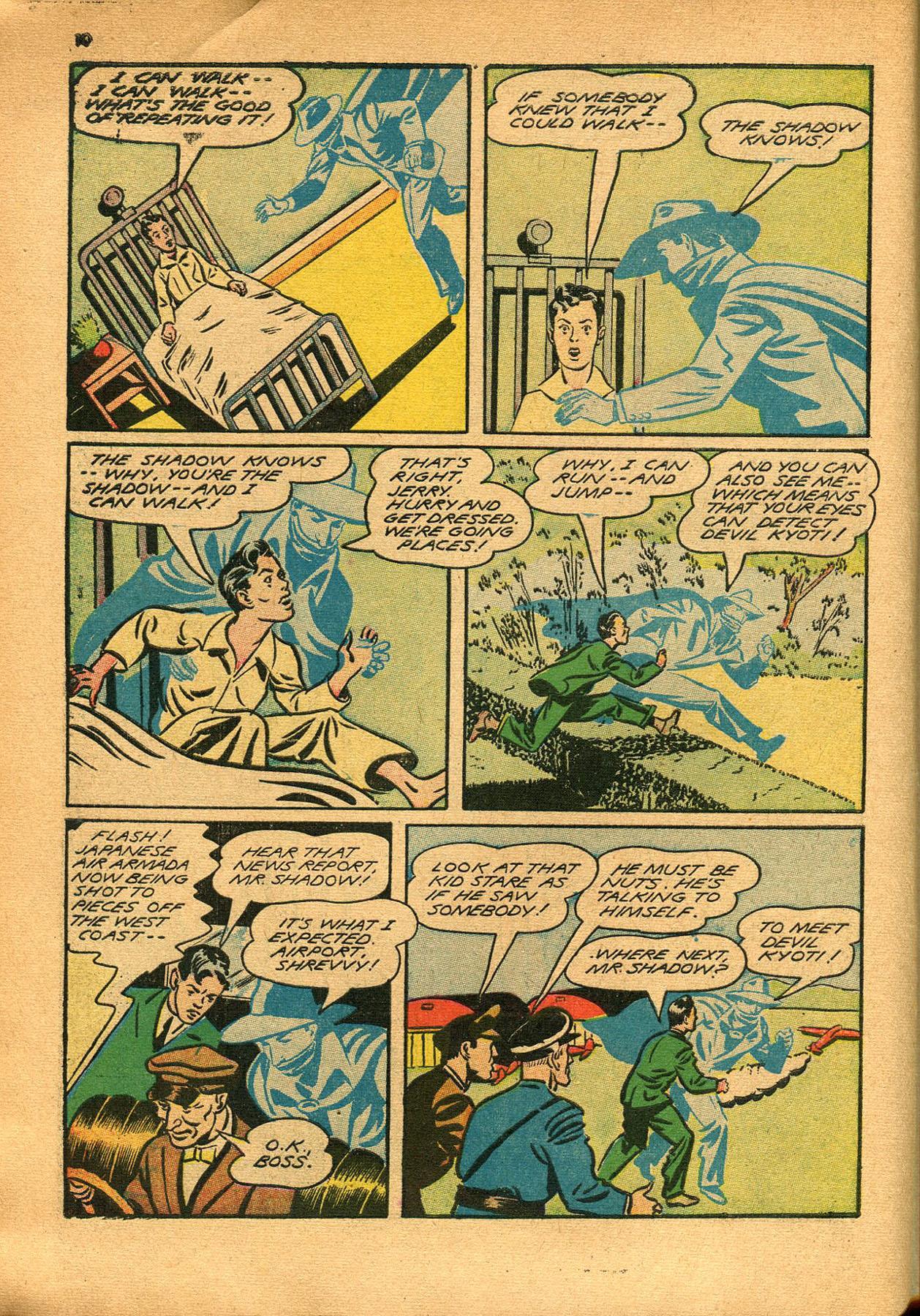 Read online Shadow Comics comic -  Issue #23 - 10