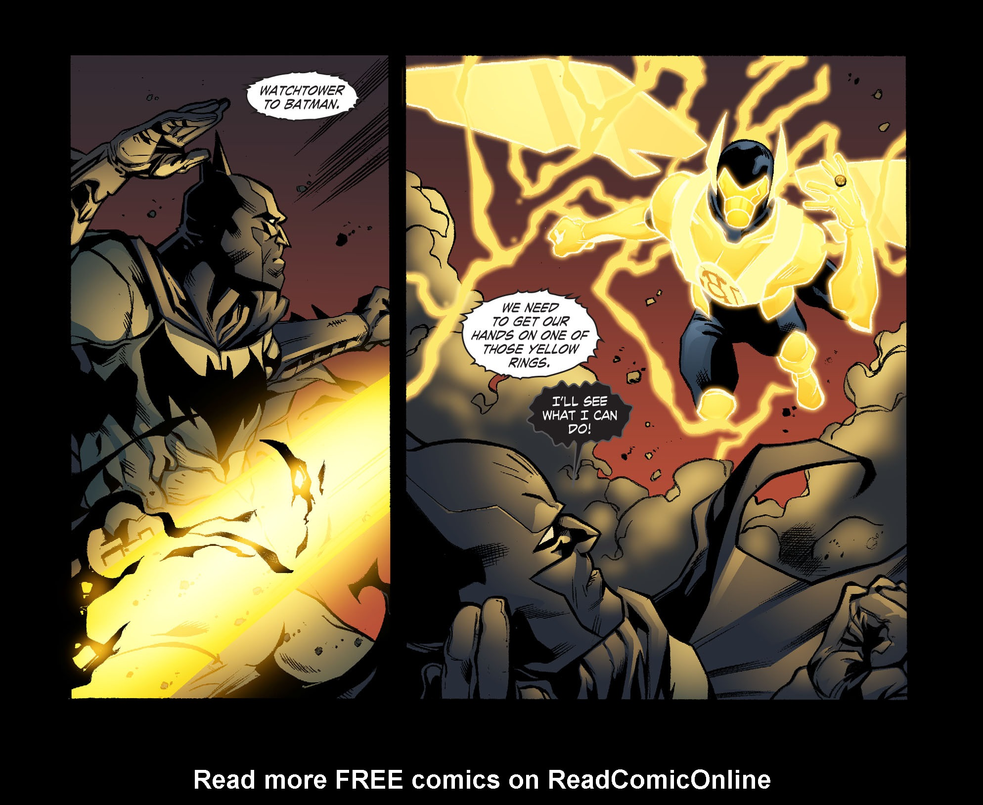 Read online Smallville: Lantern [I] comic -  Issue #10 - 12