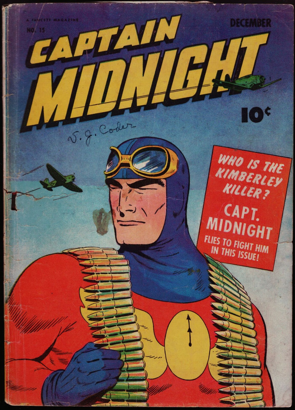 Captain Midnight (1942) 15 Page 1