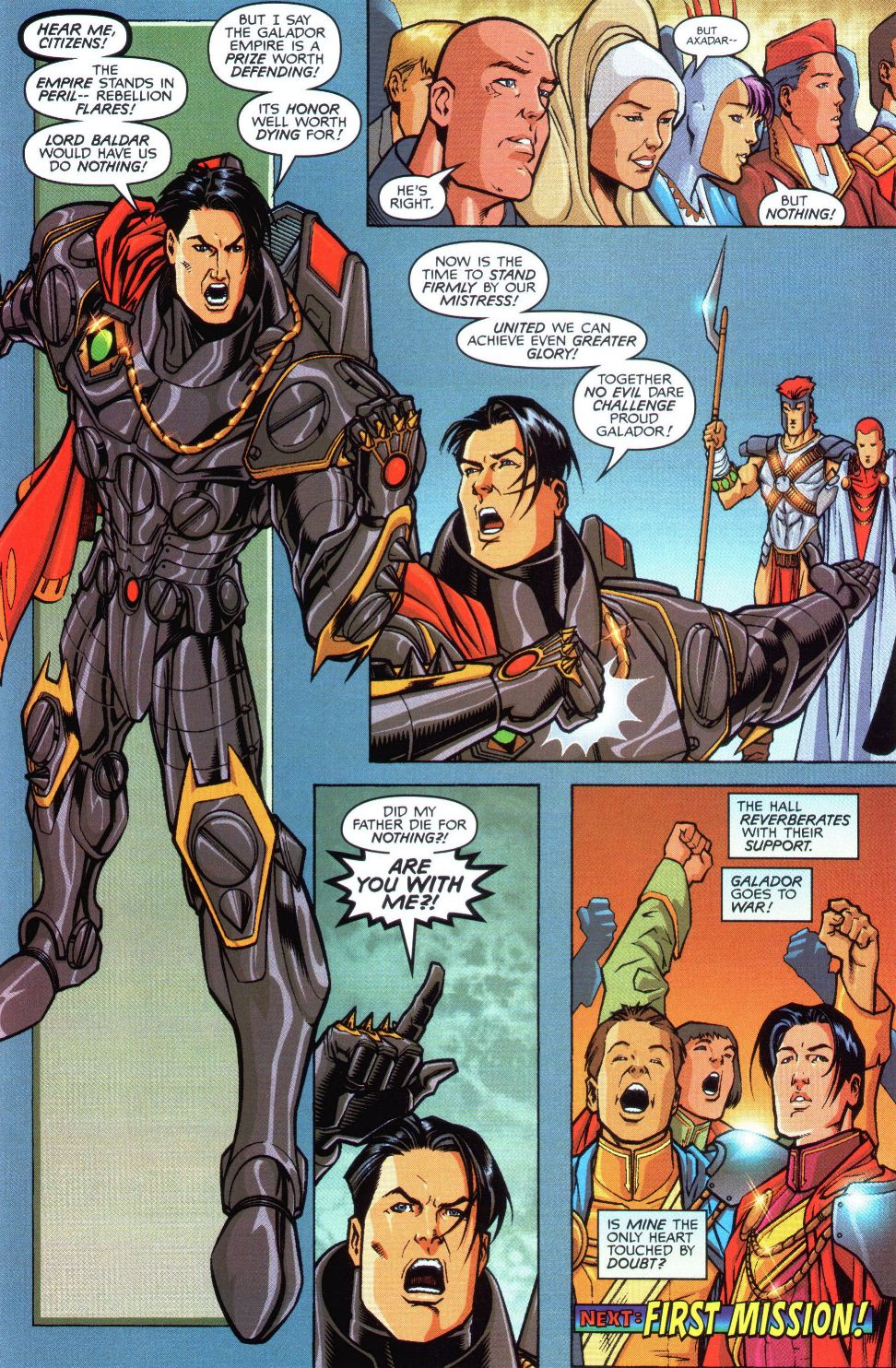 Read online Spaceknights (2000) comic -  Issue #1 - 24