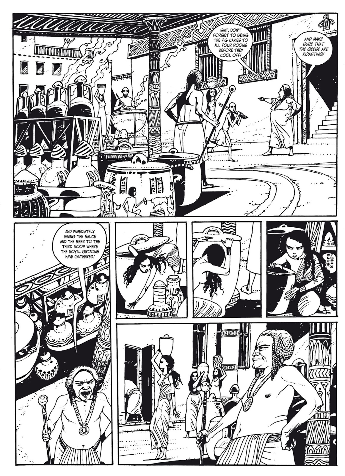 Read online The Egyptian Princesses comic -  Issue # TPB 1 (Part 3) - 30