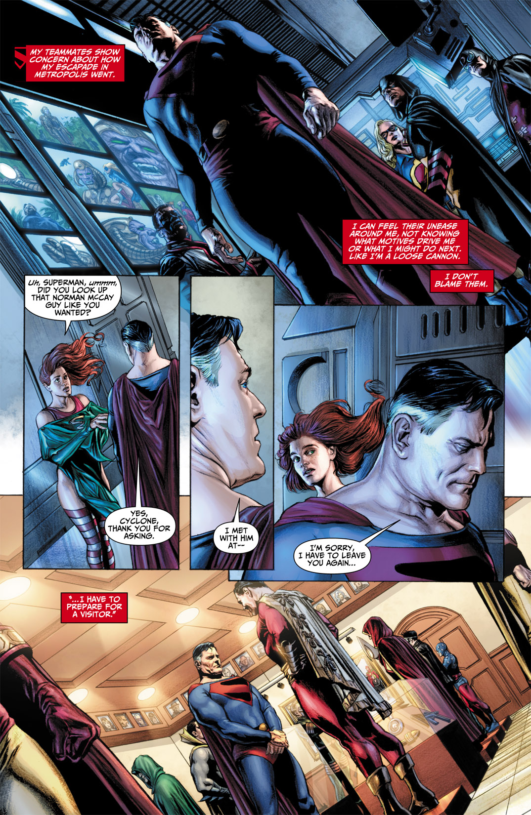 Read online JSA Kingdom Come Special: Superman comic -  Issue # Full - 18