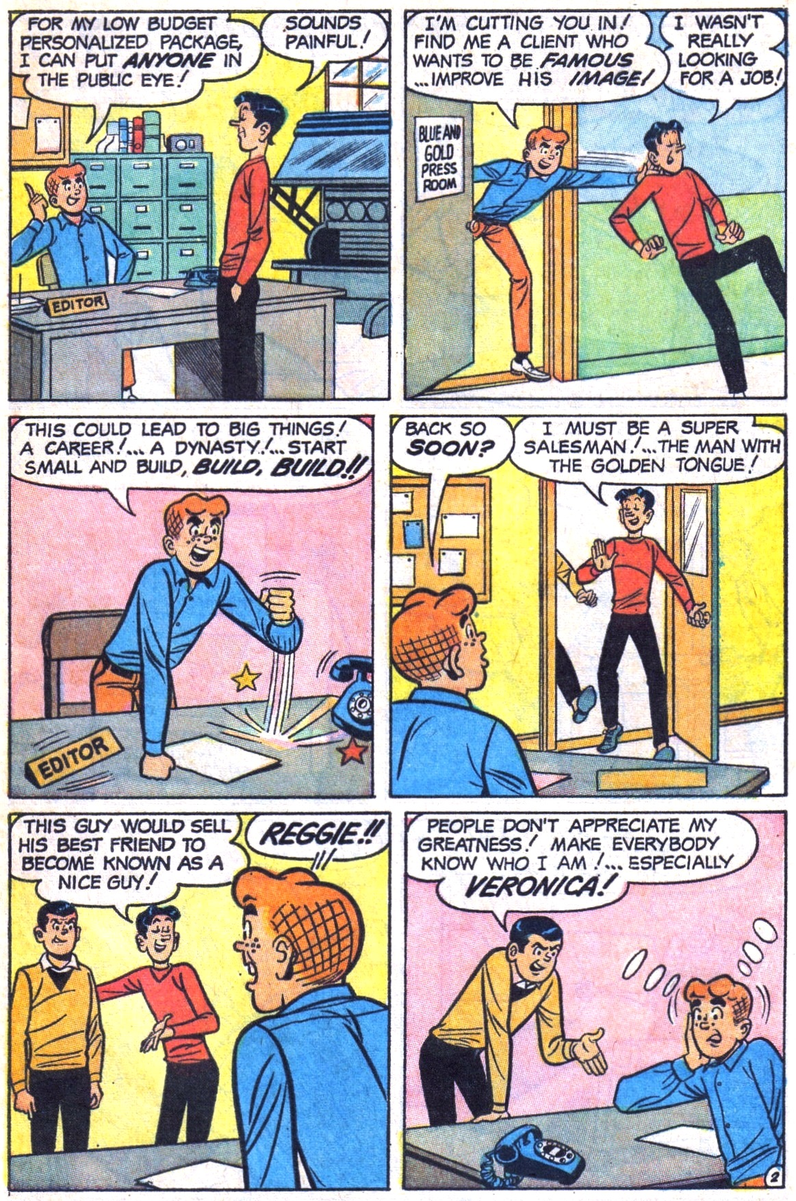 Read online Archie (1960) comic -  Issue #178 - 29