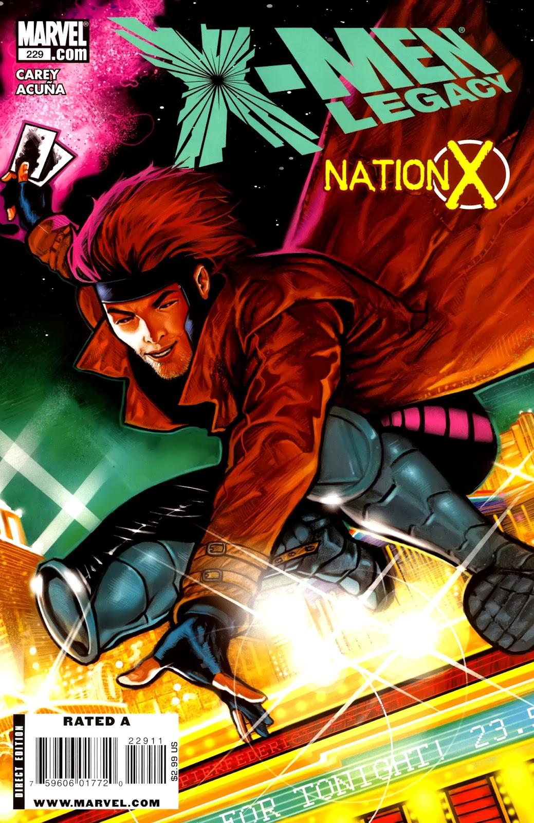 X-Men Legacy (2008) 229 Page 1