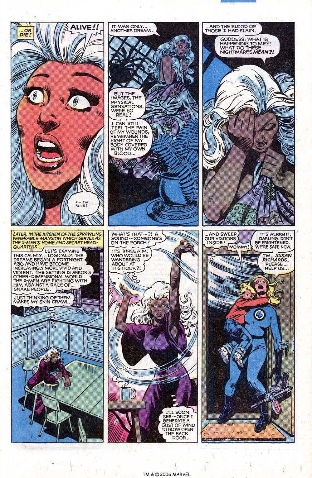 Read online Uncanny X-Men (1963) comic -  Issue # _Annual 5 - 13