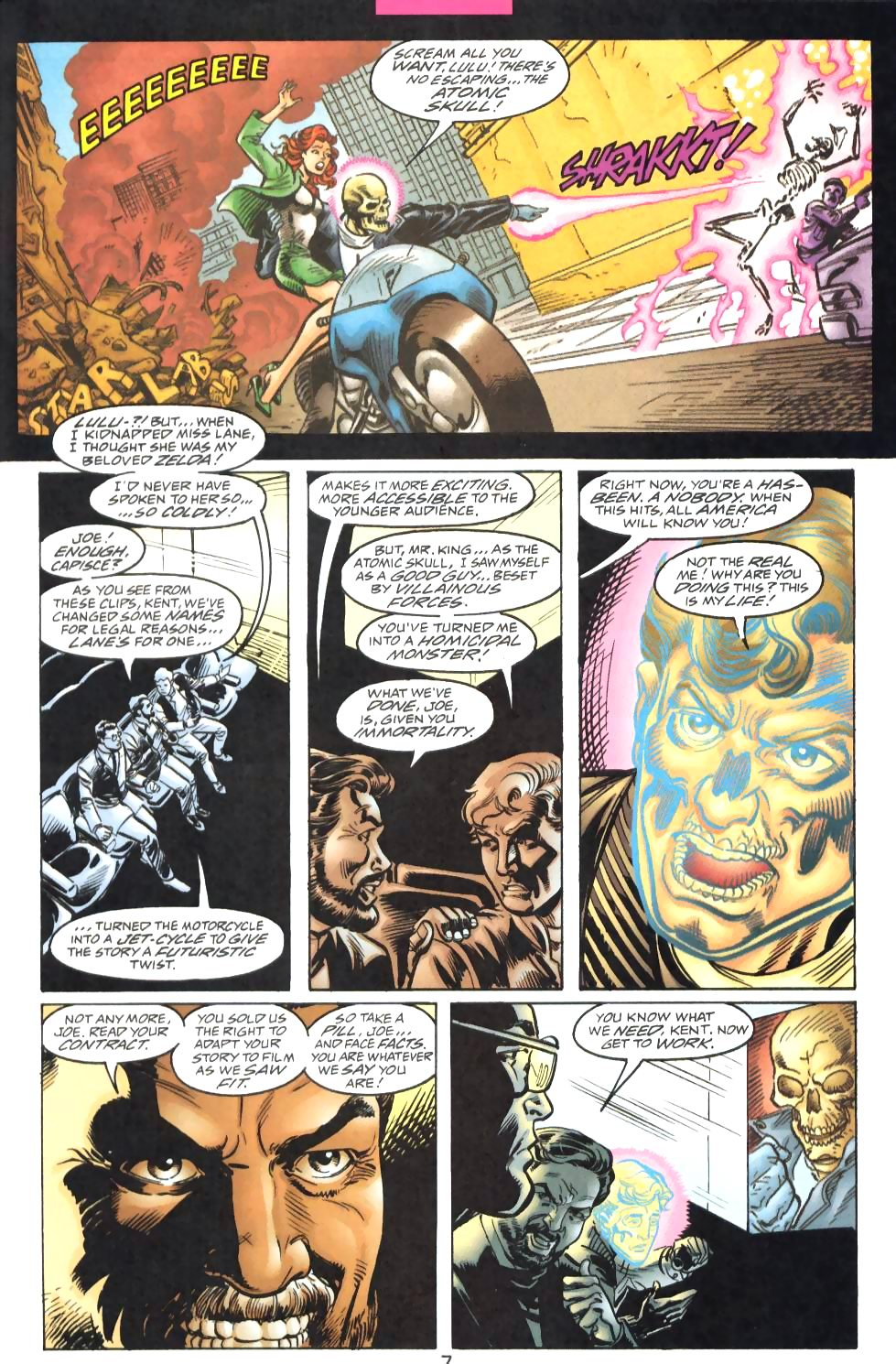 Read online Adventures of Superman (1987) comic -  Issue #571 - 9