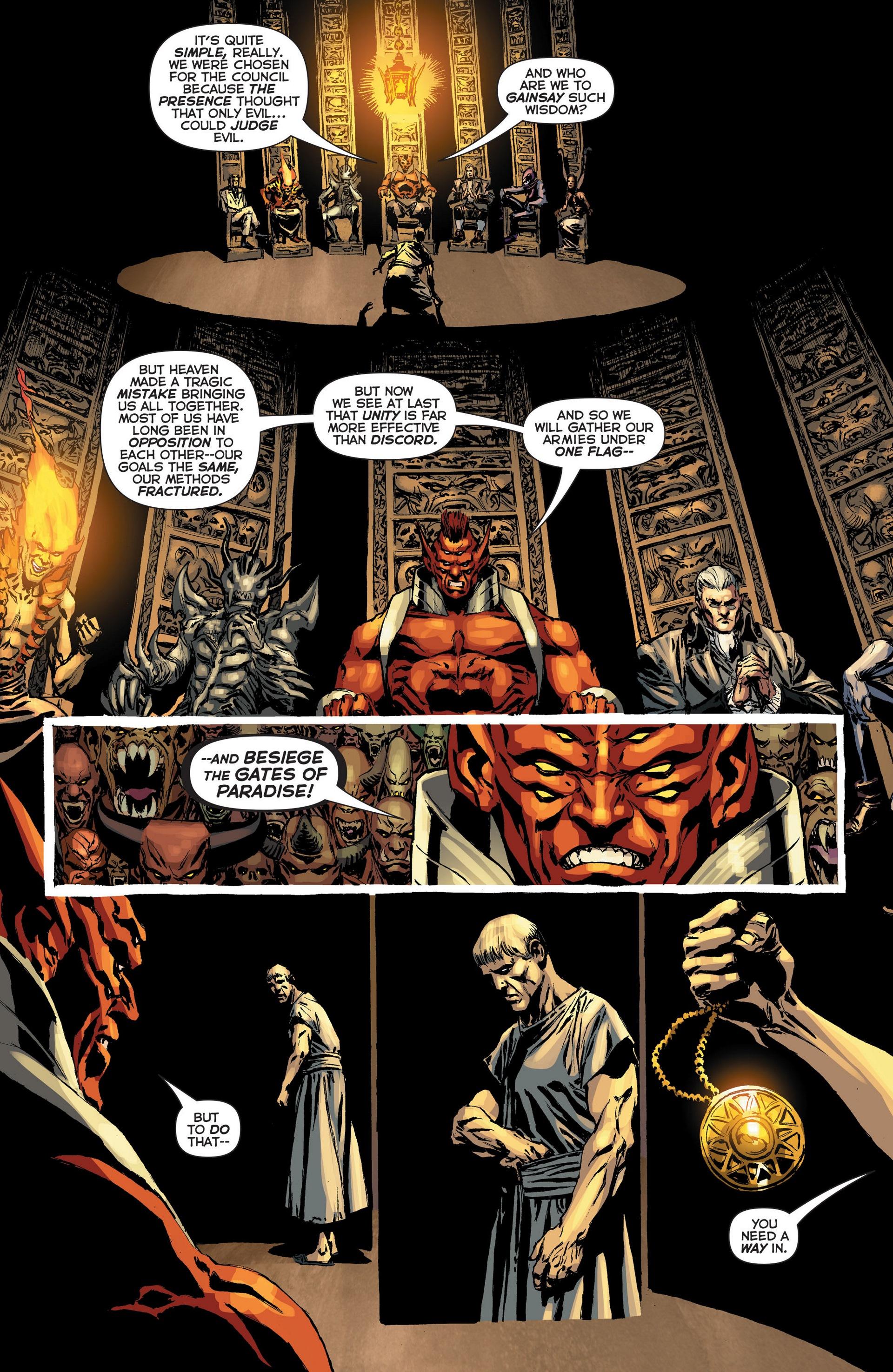 Read online Trinity of Sin: The Phantom Stranger: Futures End comic -  Issue # Full - 12
