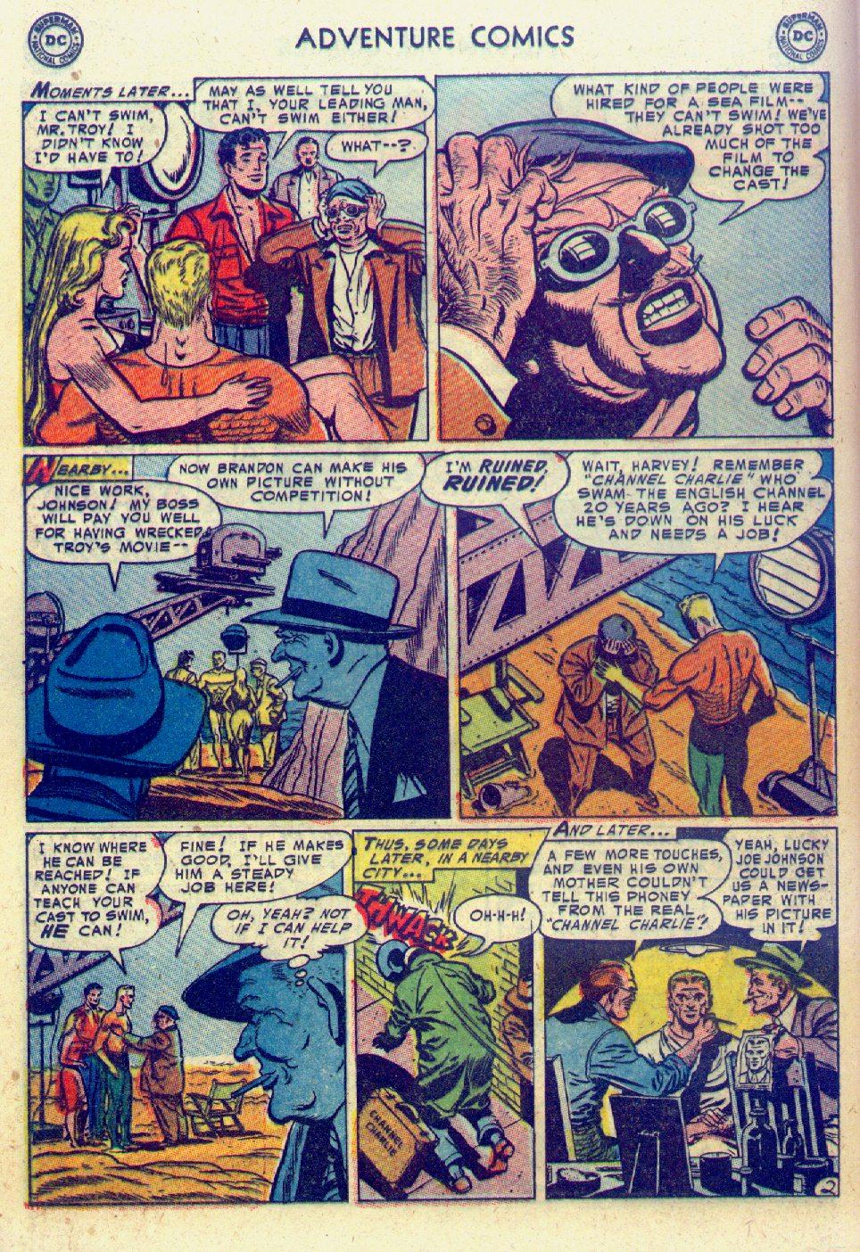Read online Adventure Comics (1938) comic -  Issue #201 - 18