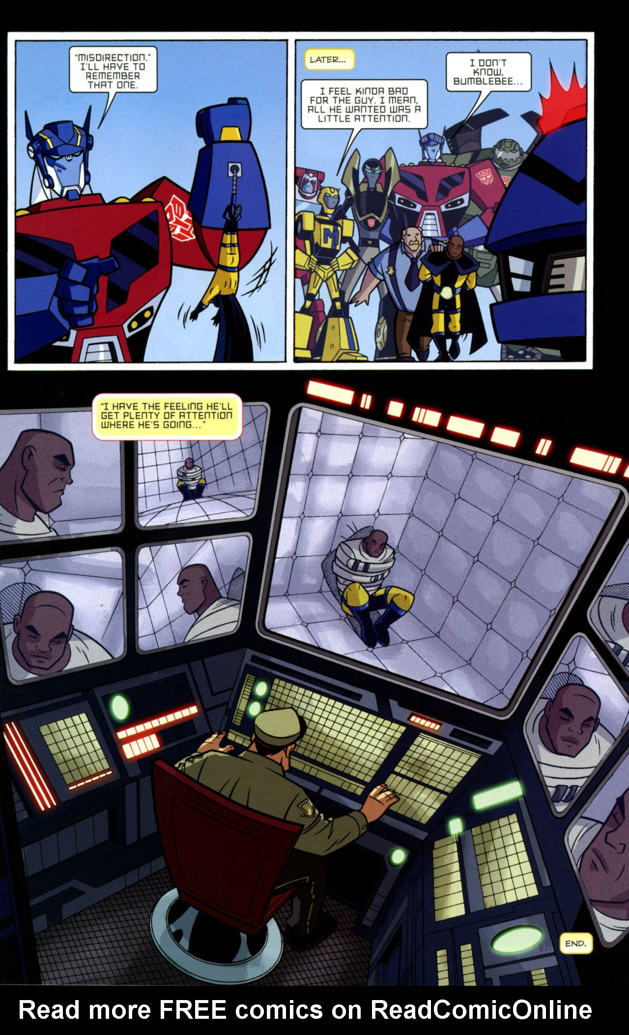 Read online Transformers Animated: The Arrival comic -  Issue #2 - 21