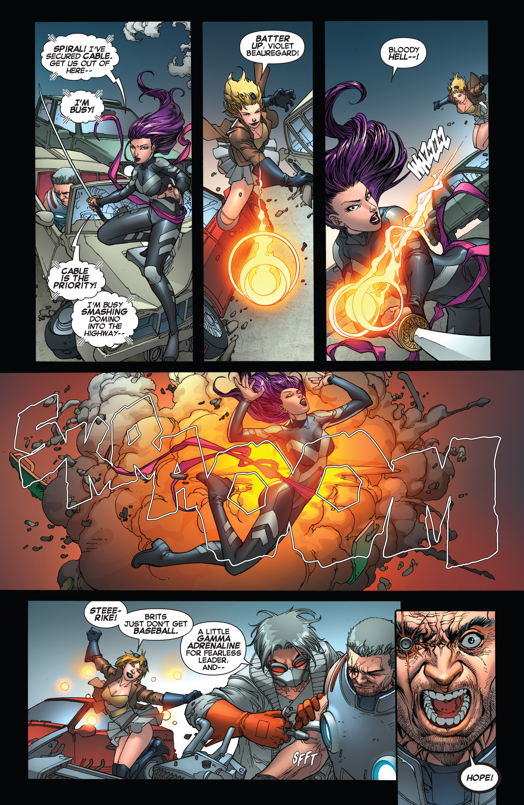 Read online Uncanny X-Force (2013) comic -  Issue #16 - 19