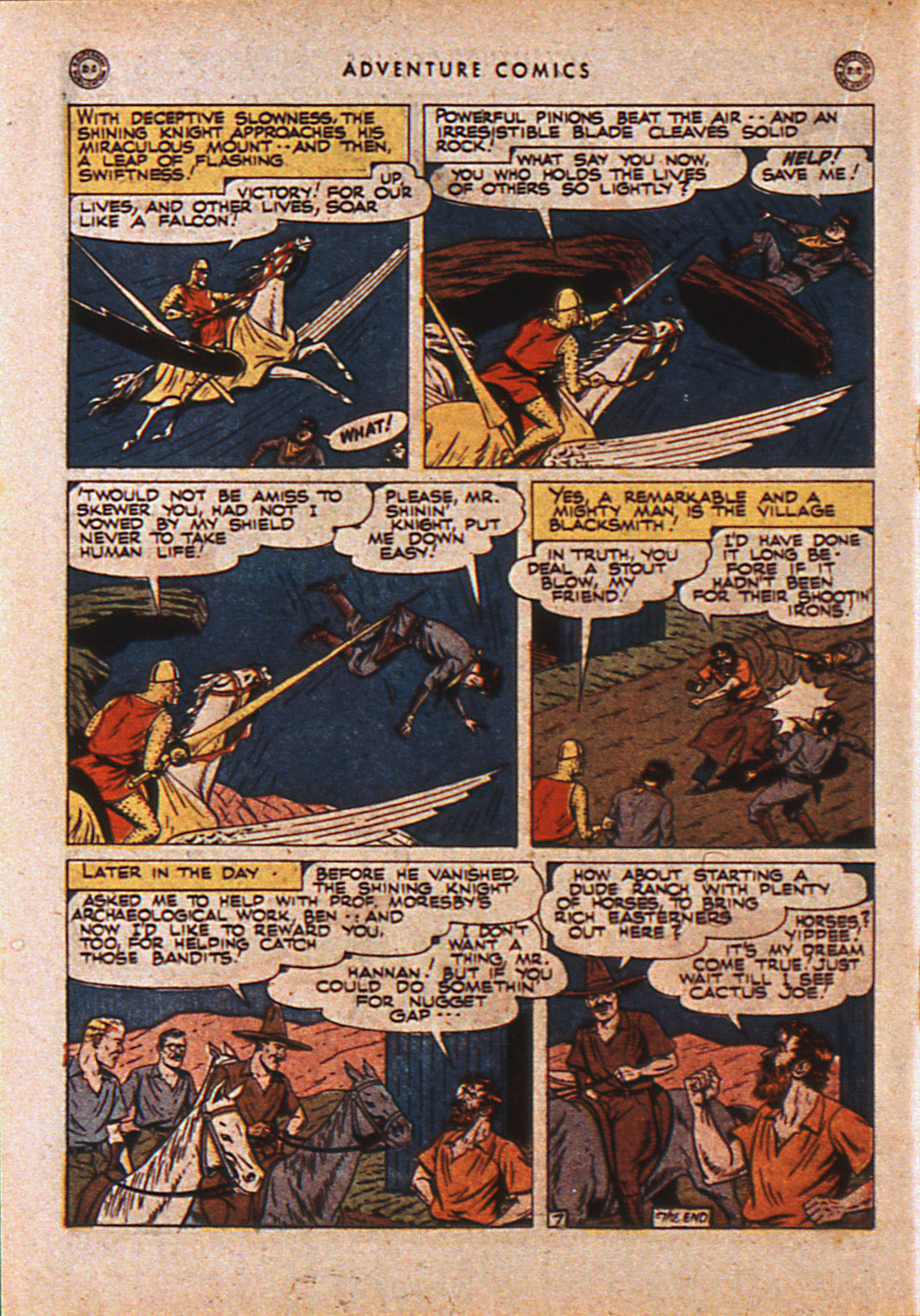 Read online Adventure Comics (1938) comic -  Issue #110 - 27