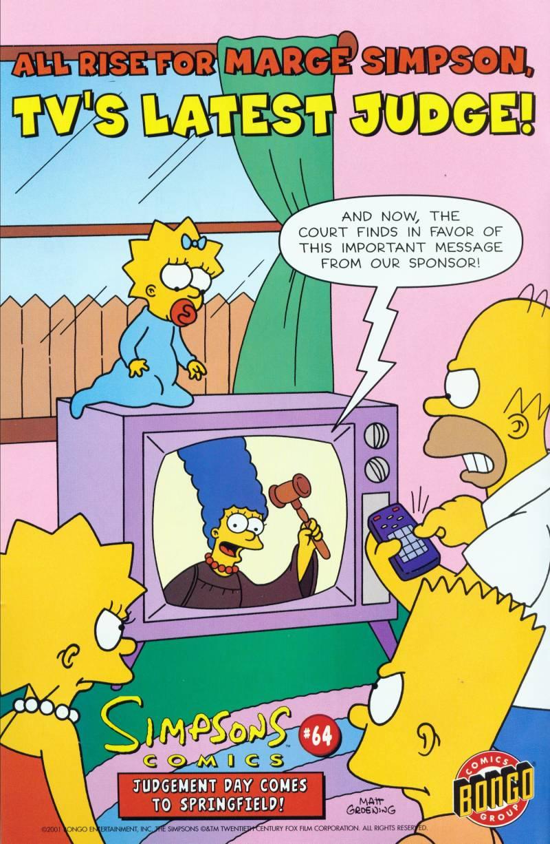 Read online Simpsons Comics Presents Bart Simpson comic -  Issue #6 - 1