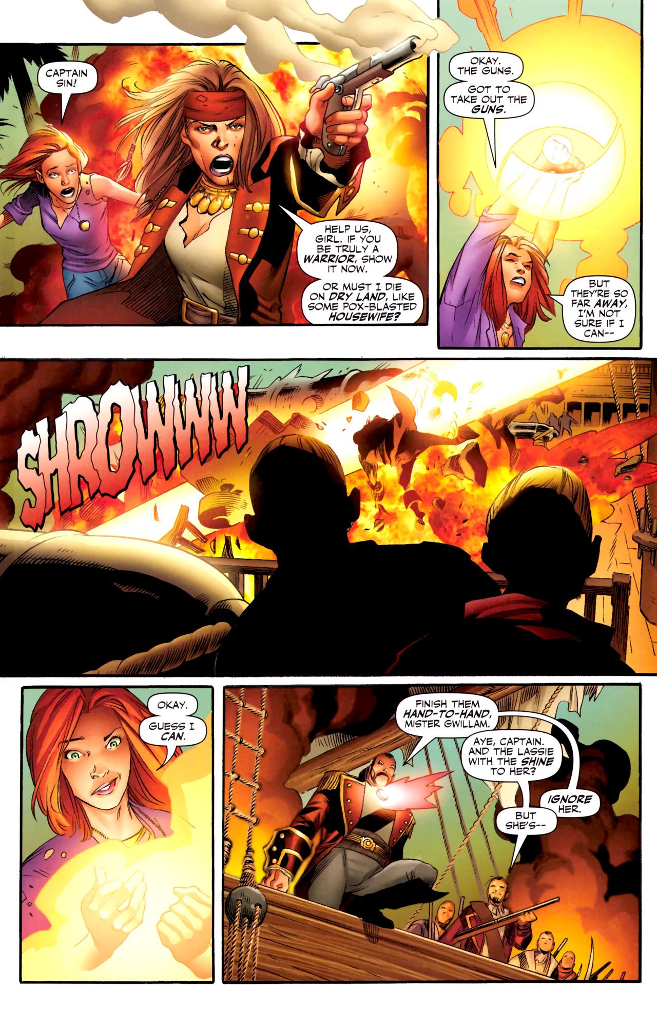 Read online Sigil (2011) comic -  Issue #4 - 4