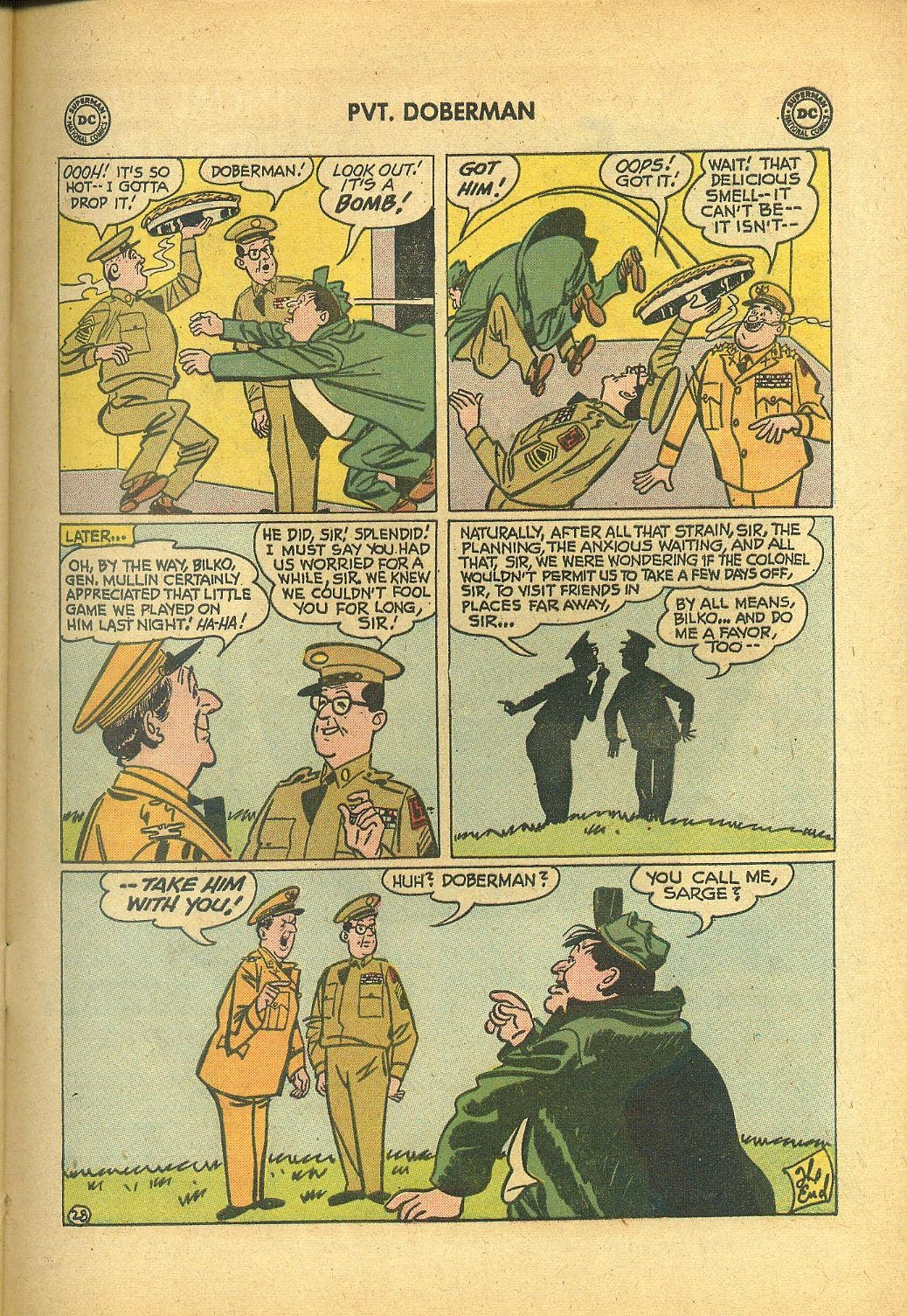 Sgt. Bilko's Pvt. Doberman issue 1 - Page 33
