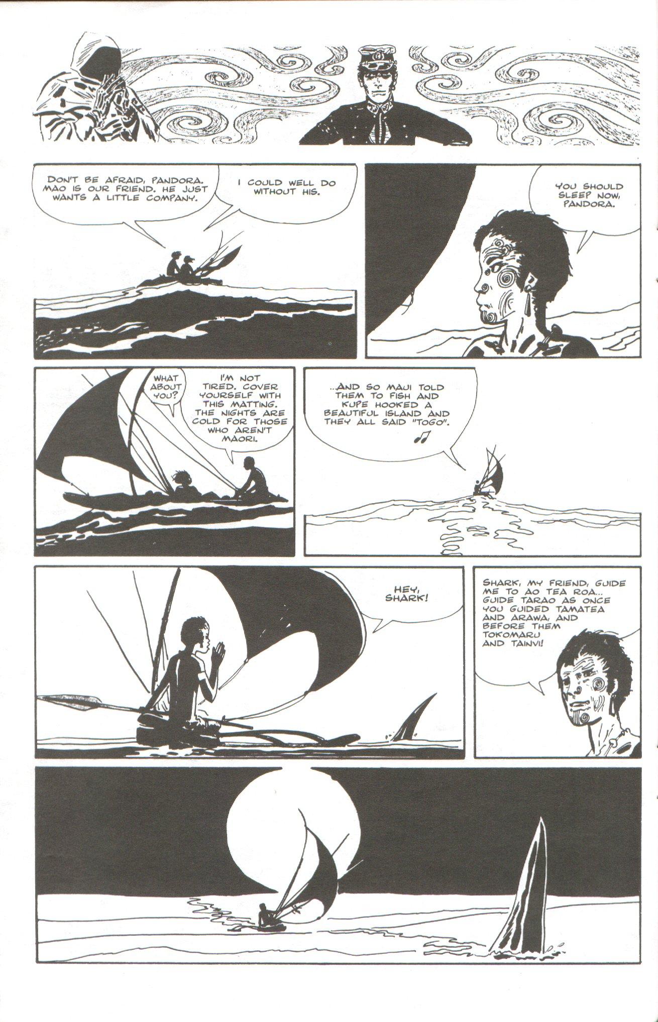 Read online Corto Maltese: Ballad of the Salt Sea comic -  Issue #5 - 22
