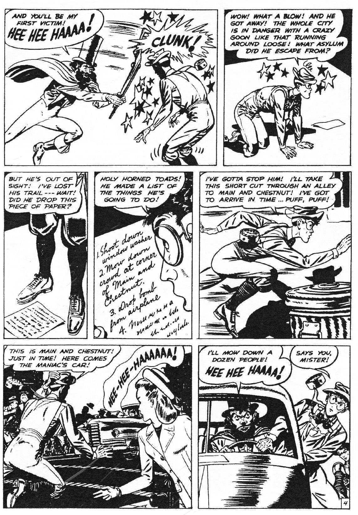 Read online Men of Mystery Comics comic -  Issue #83 - 133