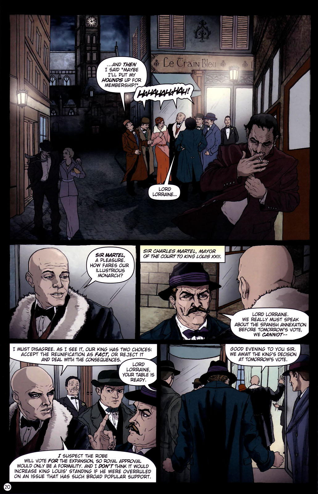 Read online Rex Mundi comic -  Issue #14 - 24