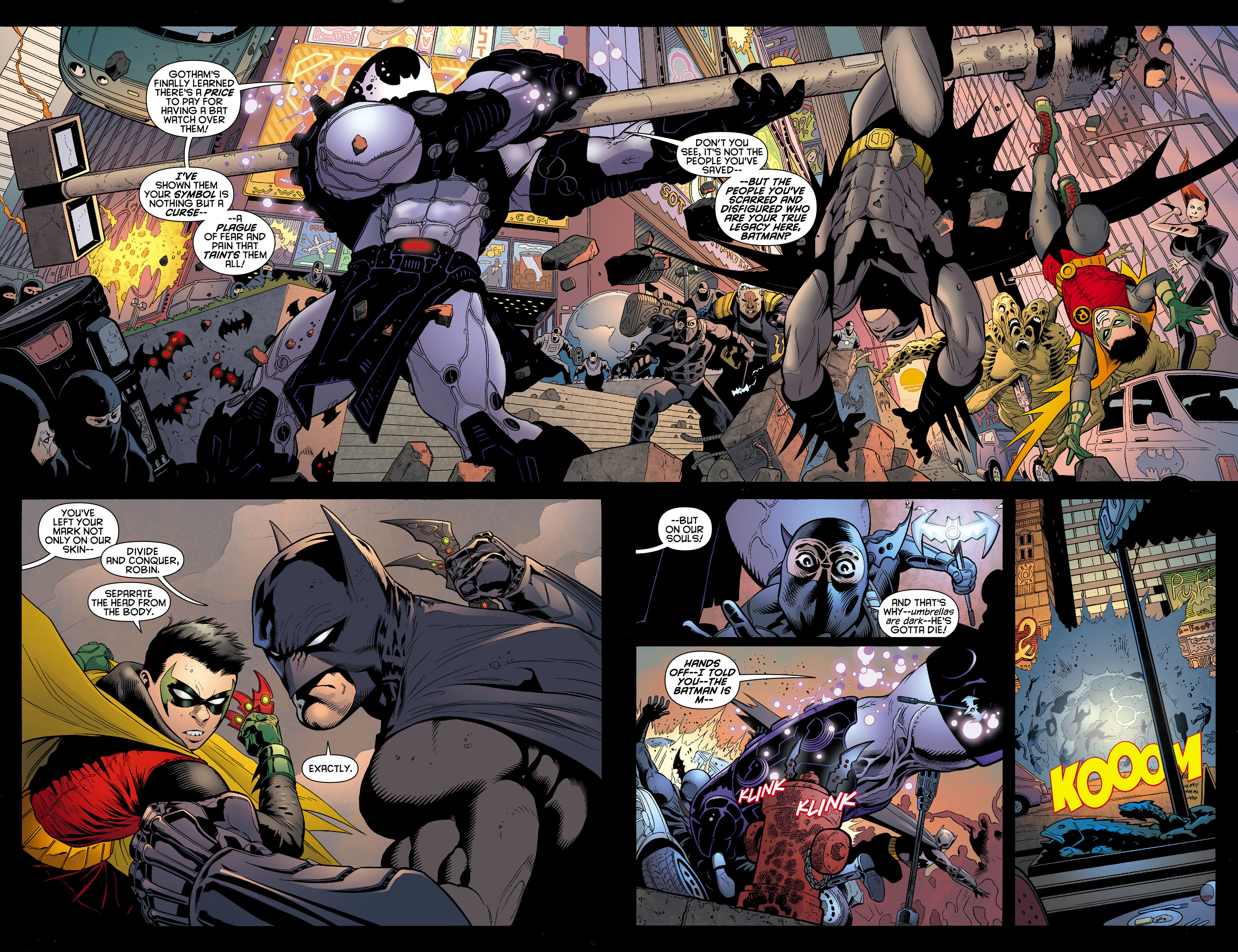 Read online Batman and Robin (2011) comic -  Issue #12 - 3