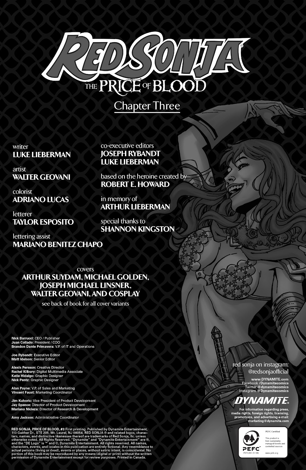 Red Sonja: The Price of Blood issue 3 - Page 6