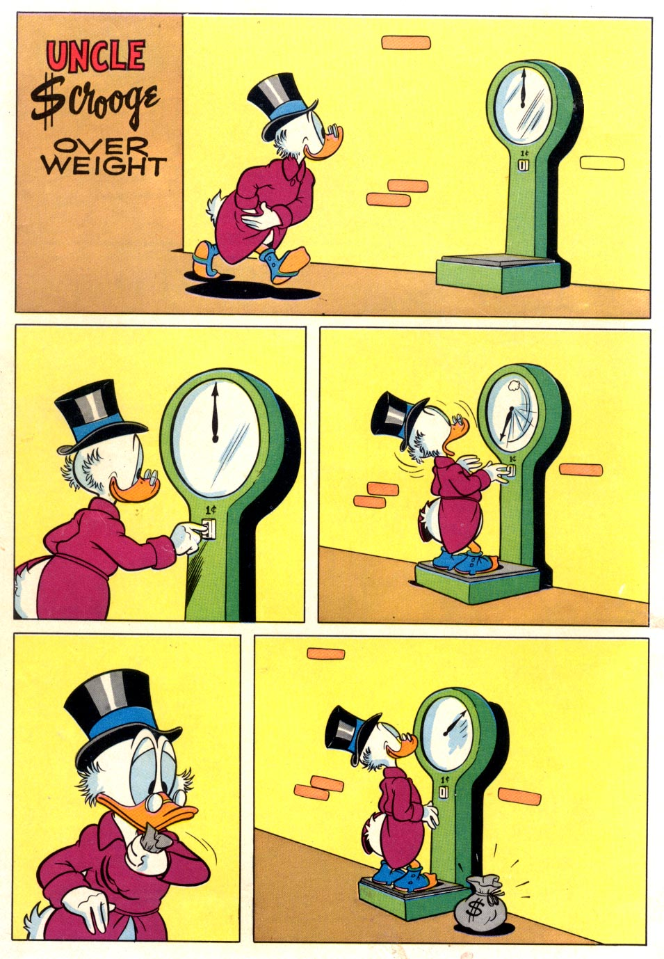 Read online Uncle Scrooge (1953) comic -  Issue #37 - 36