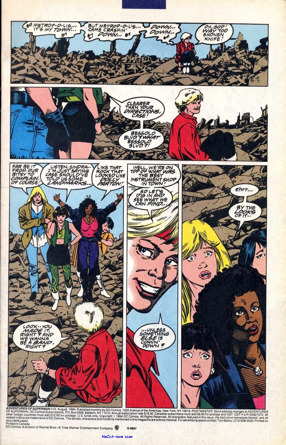 Read online Adventures of Superman (1987) comic -  Issue #515 - 2