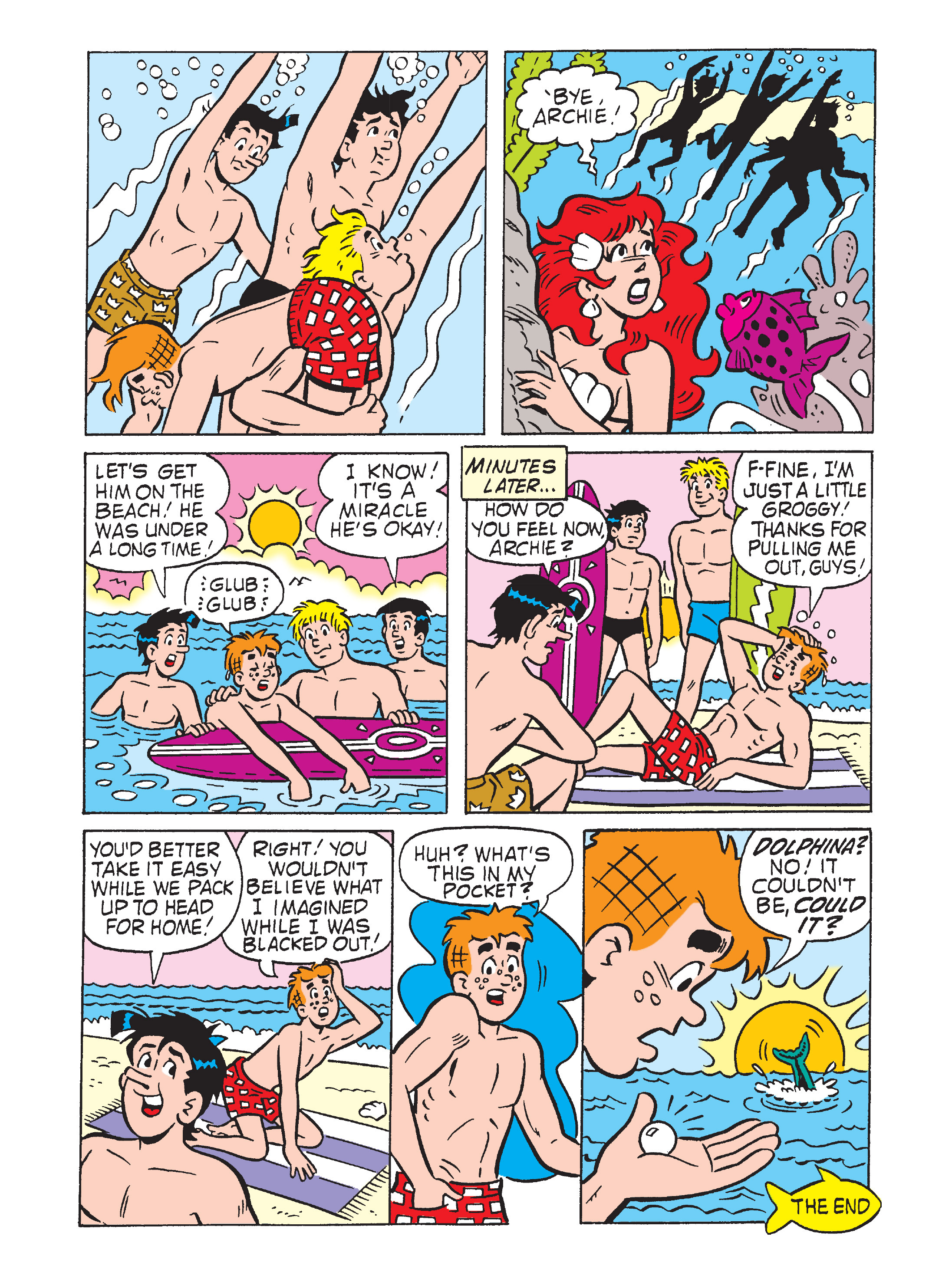 Read online Archie's Funhouse Double Digest comic -  Issue #7 - 6