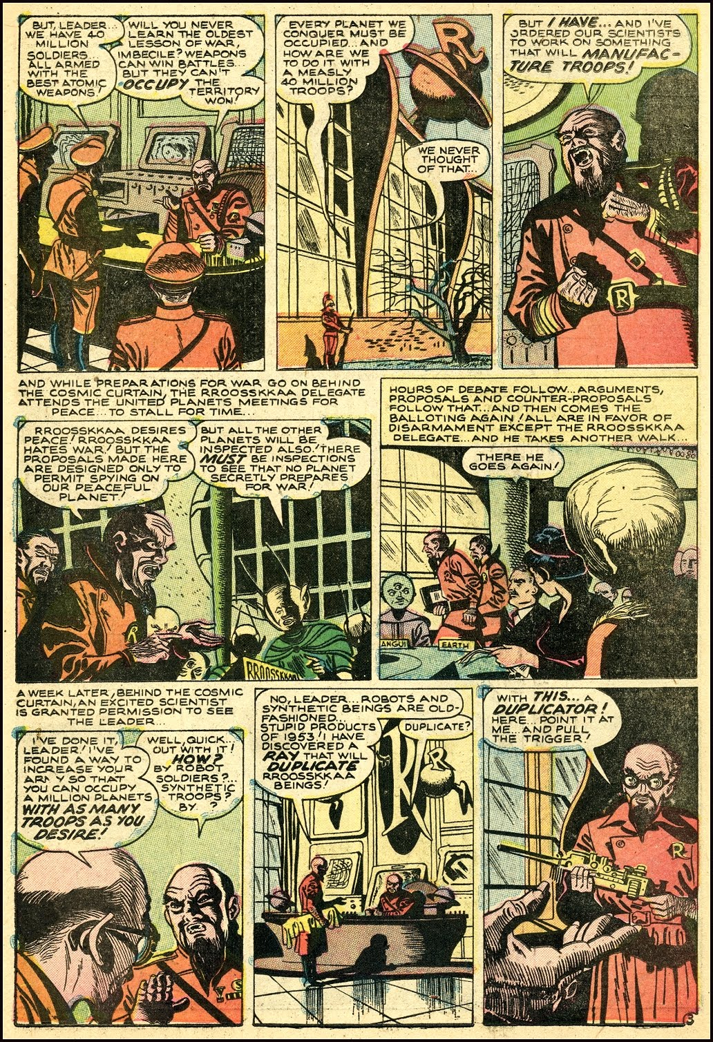 Read online Adventures into Weird Worlds comic -  Issue #25 - 24