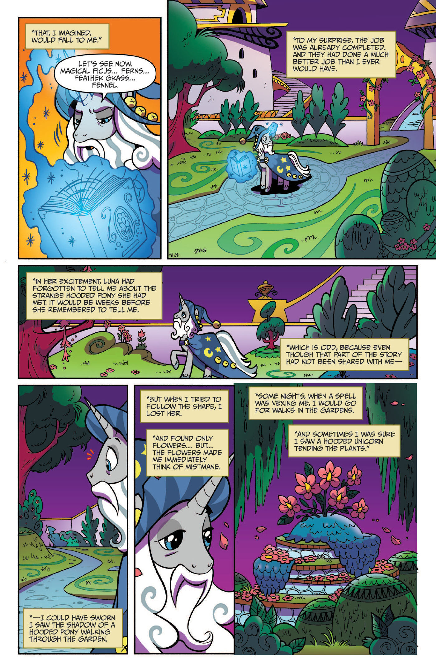 Read online My Little Pony: Legends of Magic comic -  Issue #3 - 20