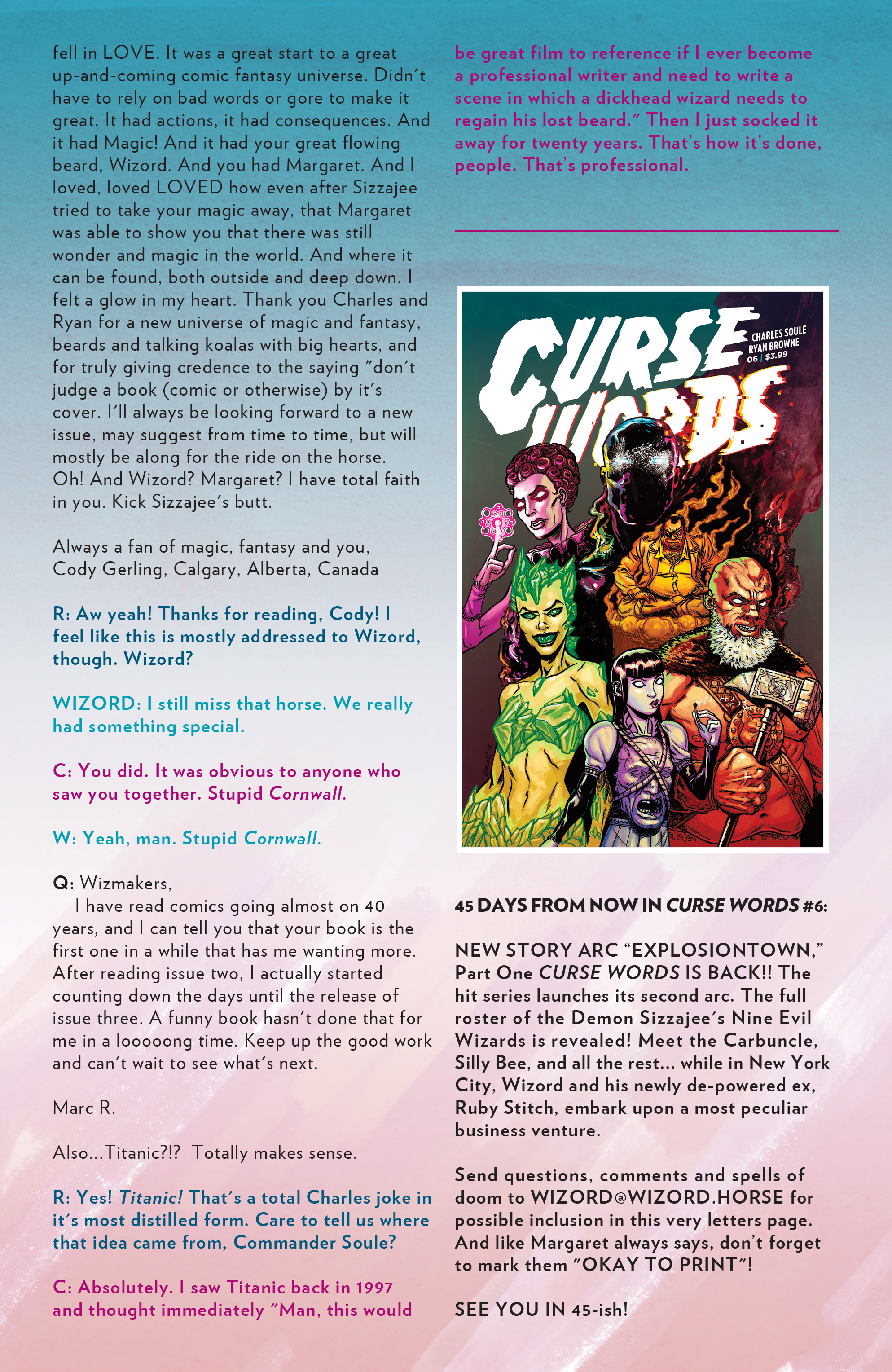 Read online Curse Words comic -  Issue #5 - 28