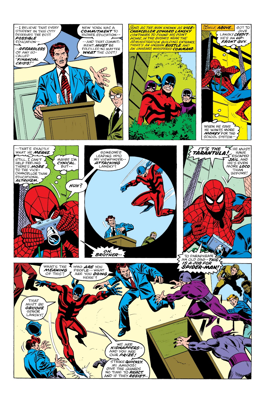 Read online Marvel Masterworks: The Spectacular Spider-Man comic -  Issue # TPB (Part 1) - 10