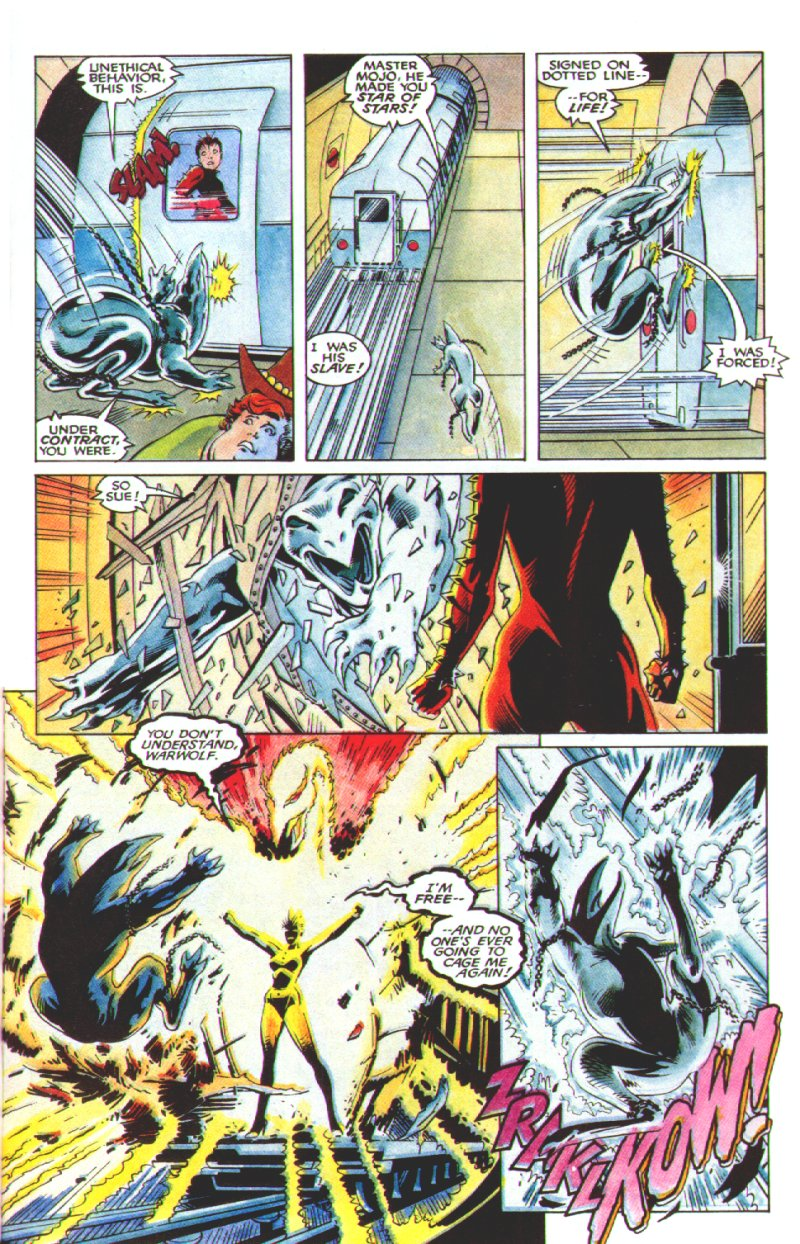 Read online Excalibur: The Sword is Drawn comic -  Issue # Full - 30