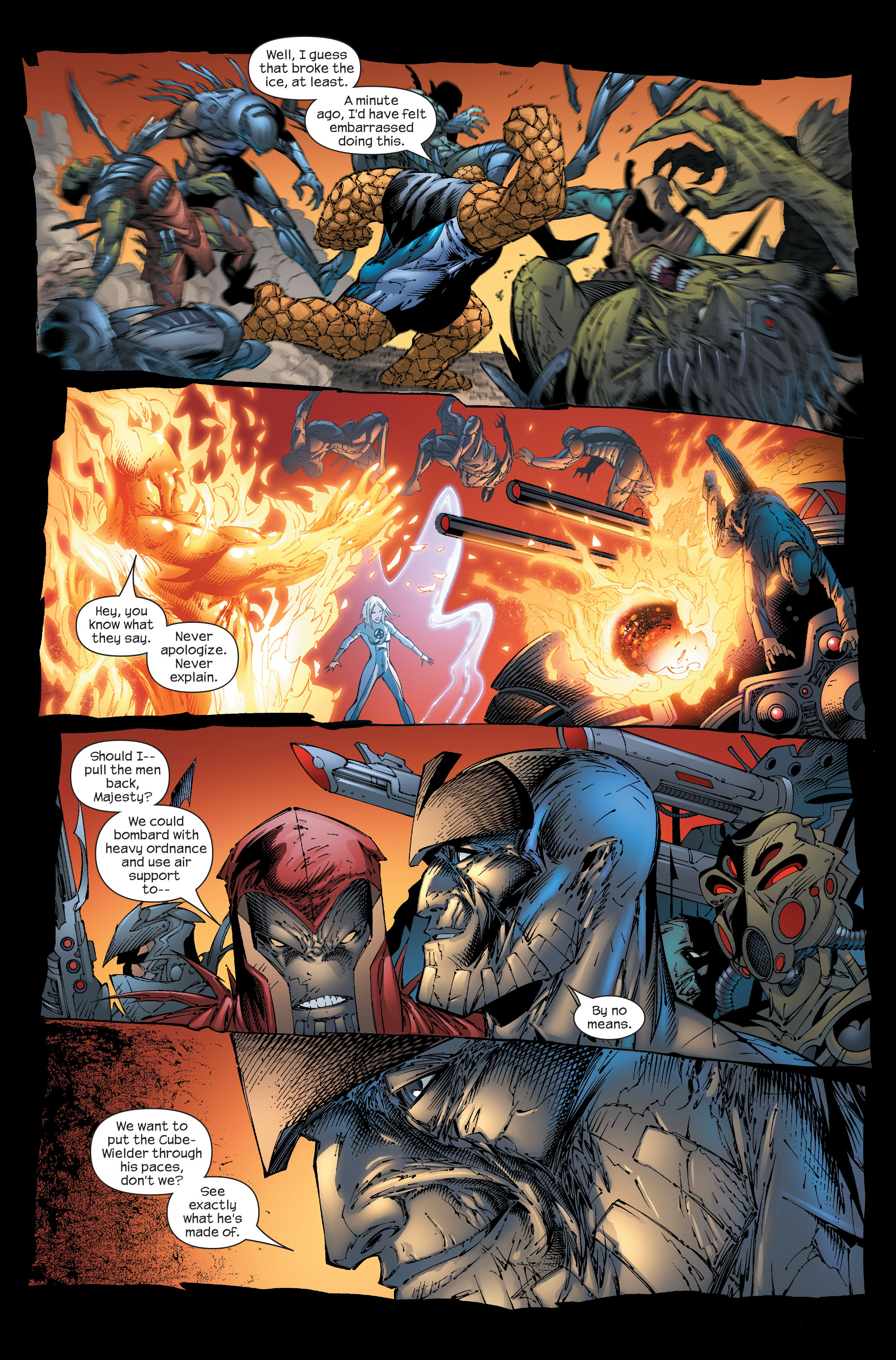 Read online Ultimate Fantastic Four (2004) comic -  Issue #51 - 15