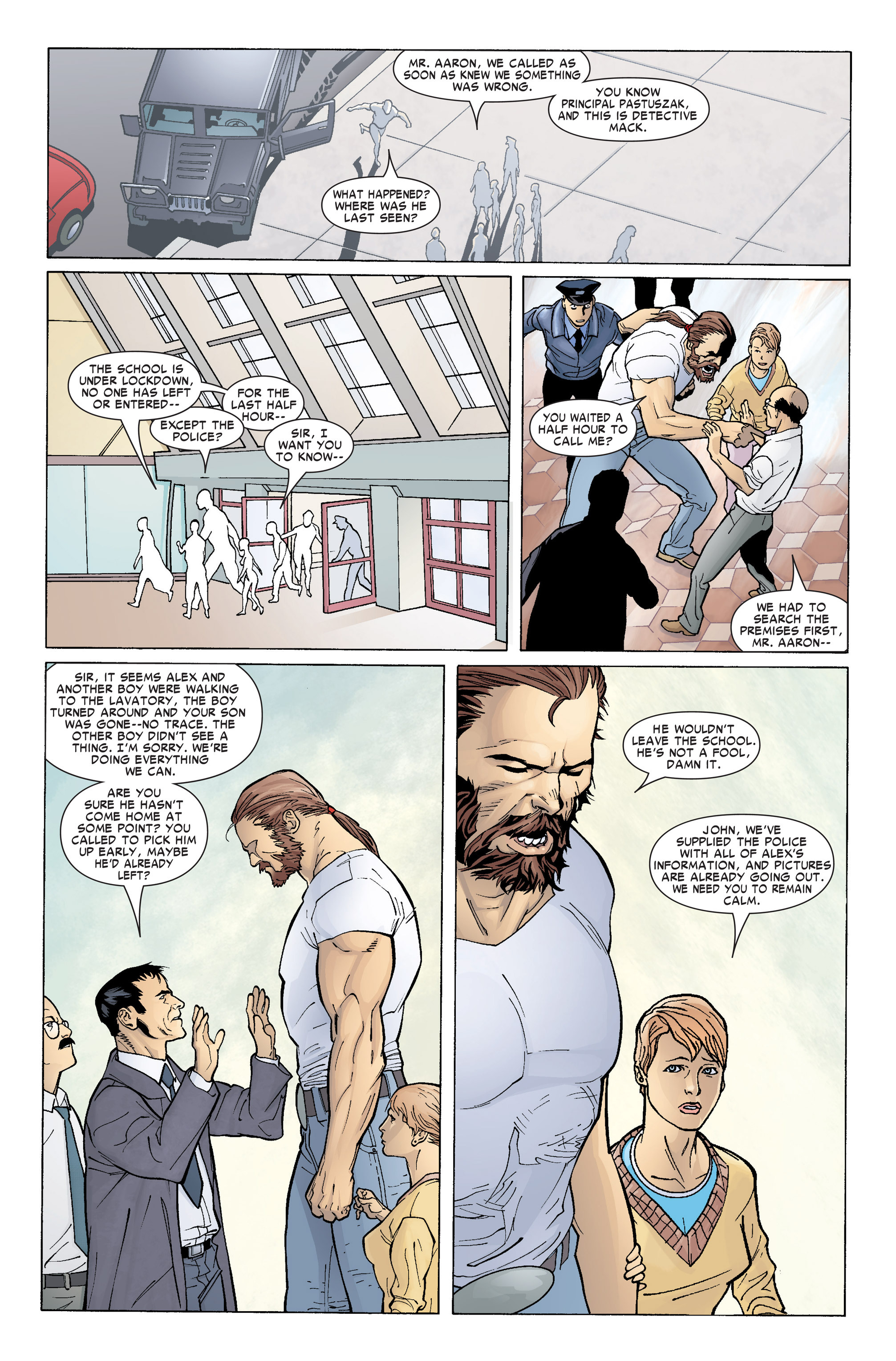 Read online Ares comic -  Issue #1 - 14