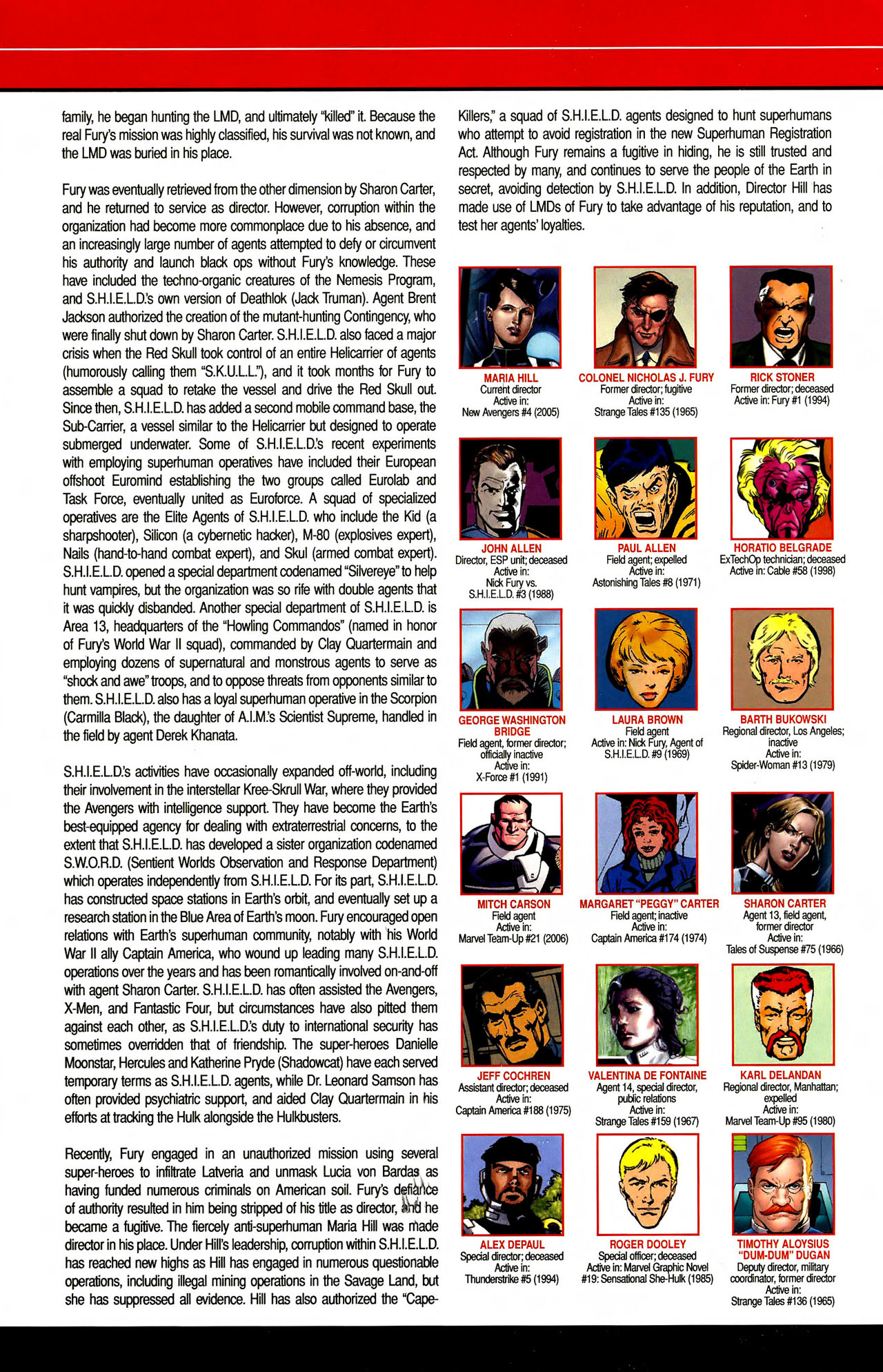 Read online All-New Official Handbook of the Marvel Universe A to Z comic -  Issue #10 - 12