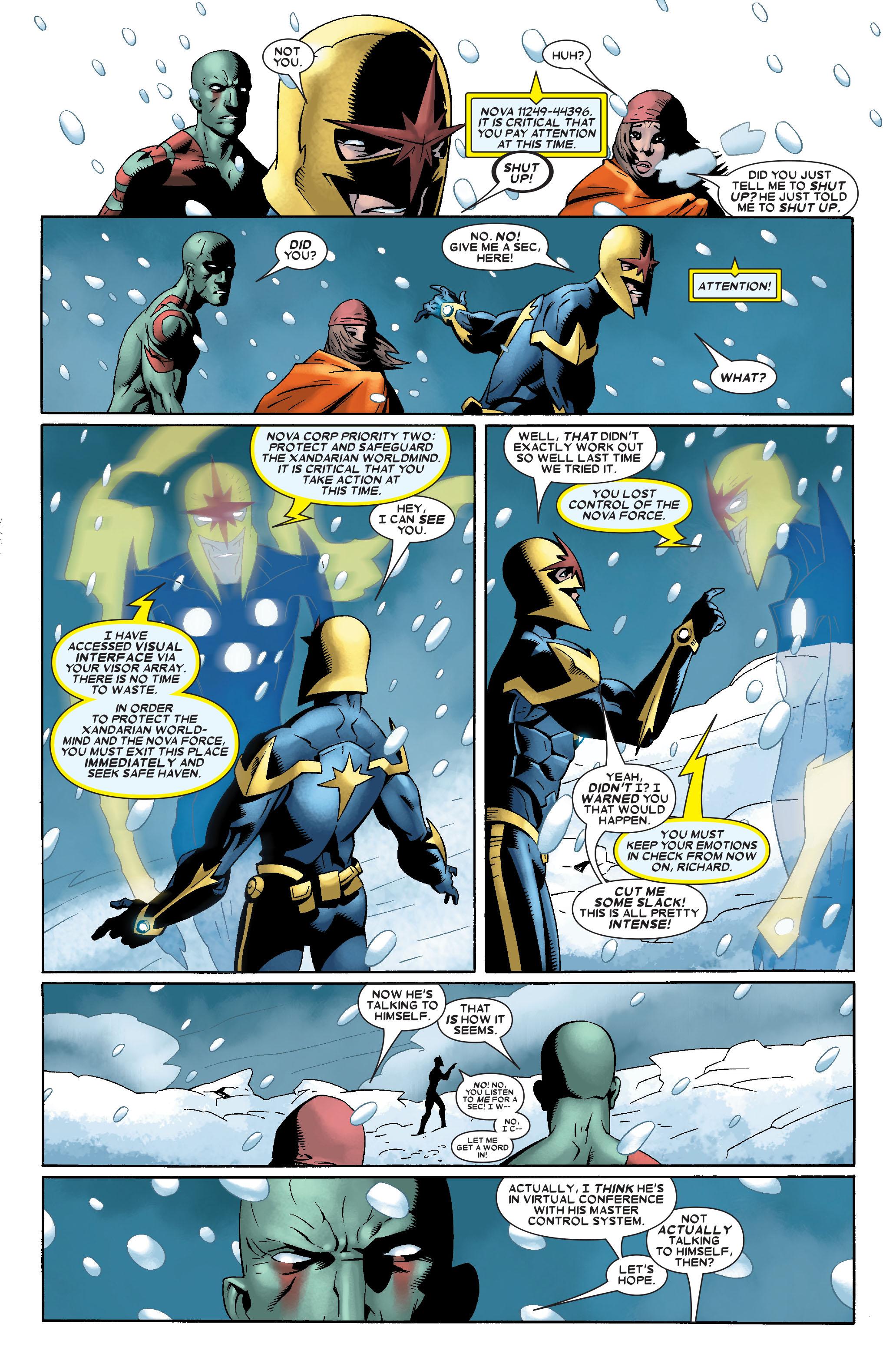 Read online Annihilation: Nova comic -  Issue #2 - 6