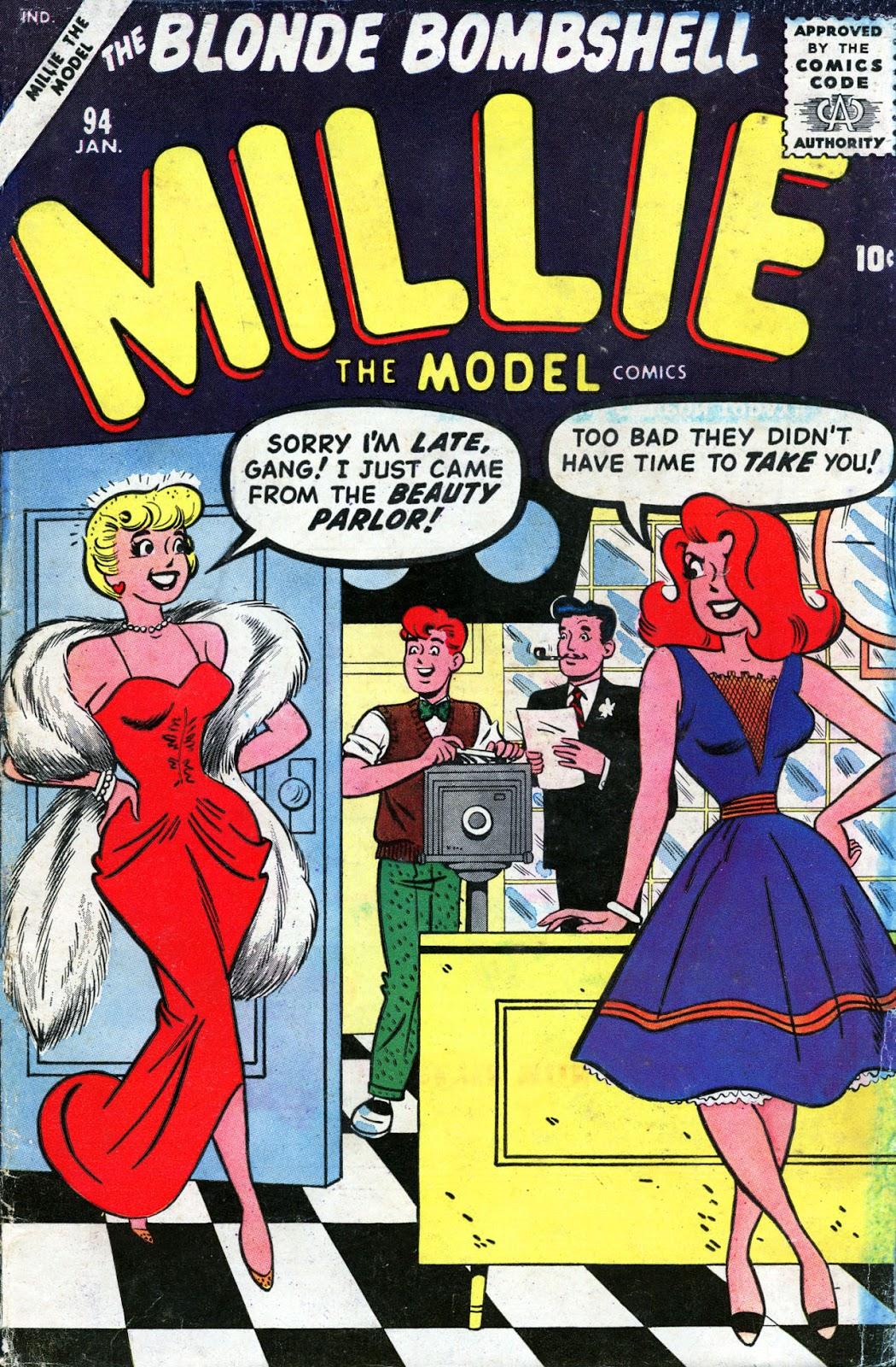 Millie the Model issue 94 - Page 1