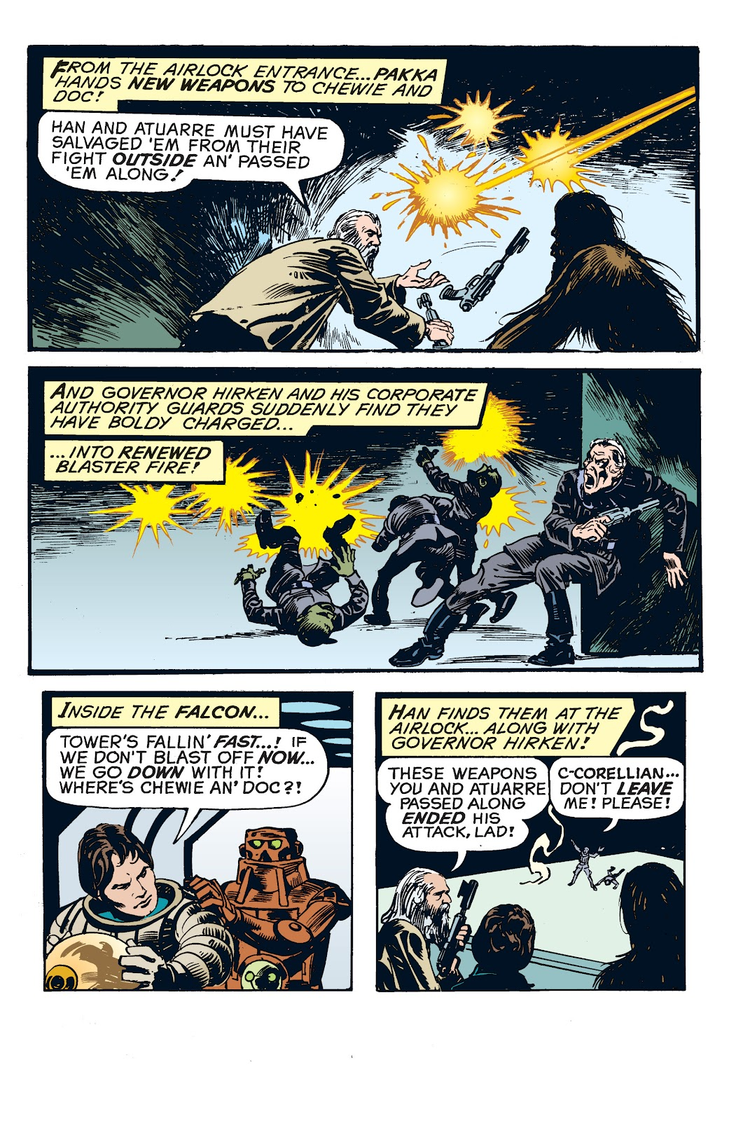 Read online Star Wars Legends: The Newspaper Strips - Epic Collection comic -  Issue # TPB (Part 4) - 77