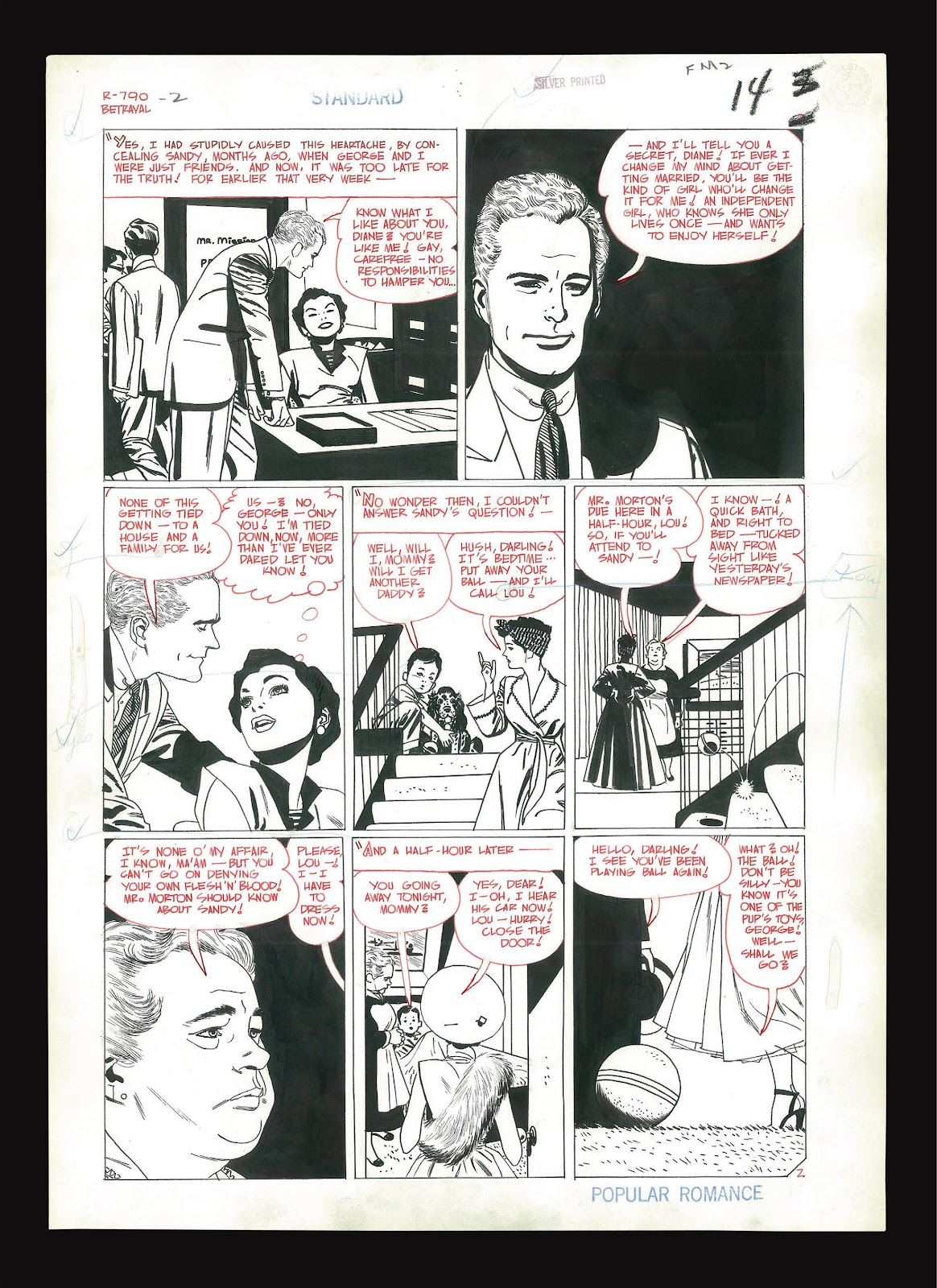 Read online Setting the Standard: Comics by Alex Toth 1952-1954 comic -  Issue # TPB (Part 4) - 119
