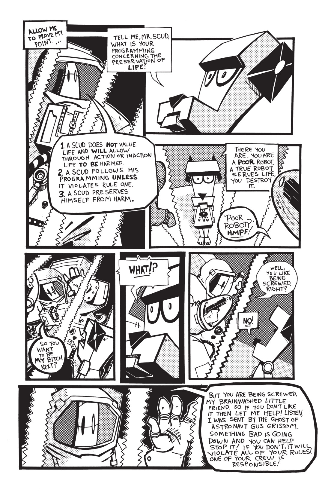 Read online Scud: The Disposable Assassin: The Whole Shebang comic -  Issue # TPB (Part 2) - 76