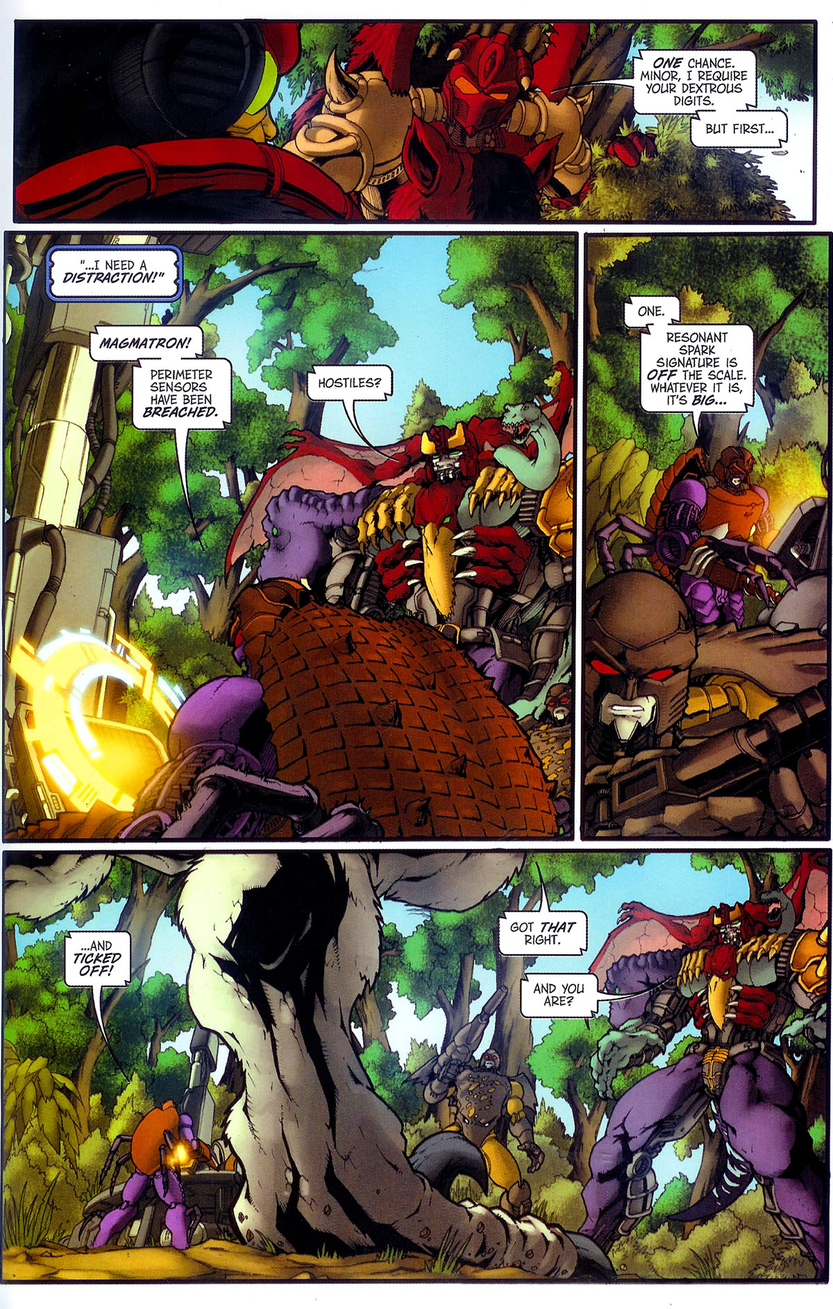 Read online Transformers, Beast Wars: The Gathering comic -  Issue #3 - 26