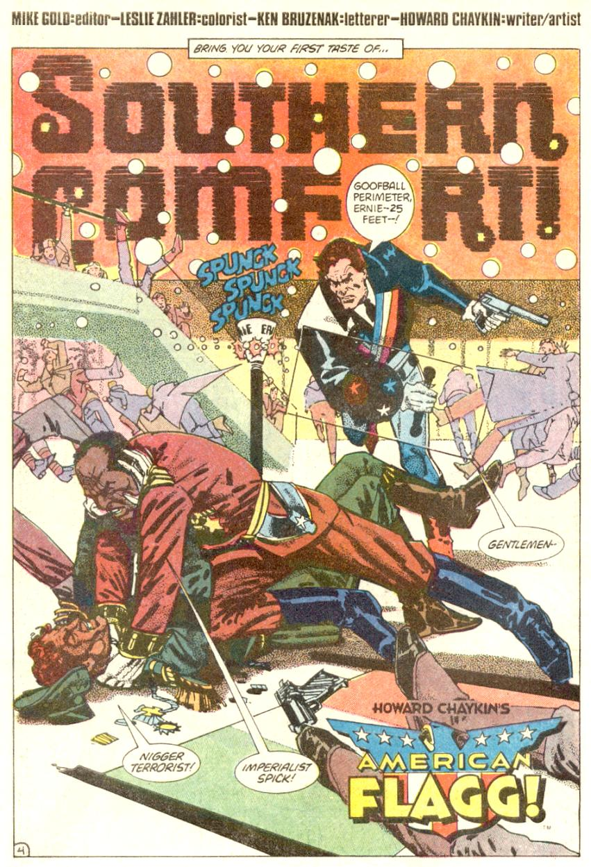 Read online American Flagg! comic -  Issue #4 - 5
