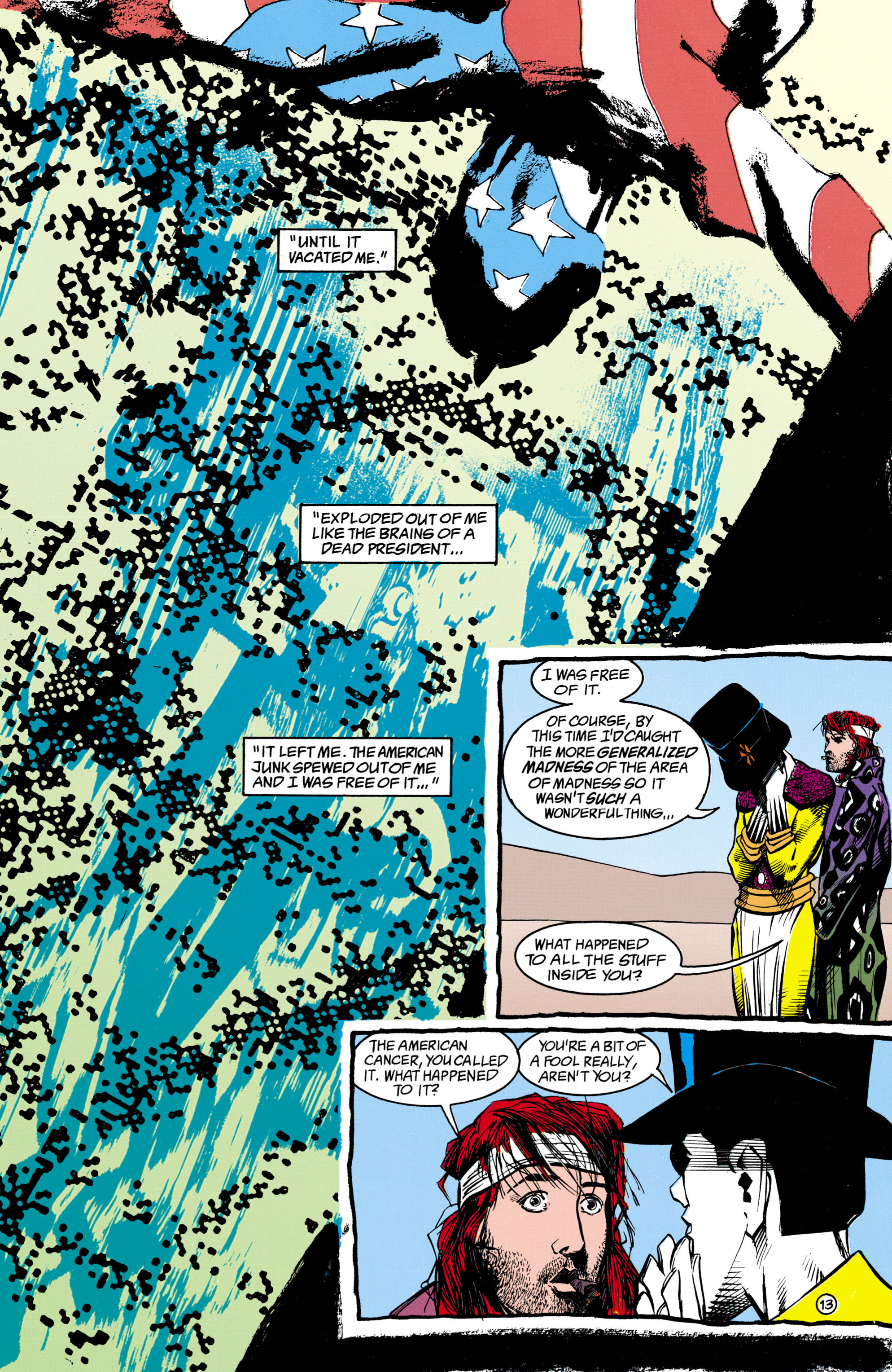 Read online Shade, the Changing Man comic -  Issue #16 - 13