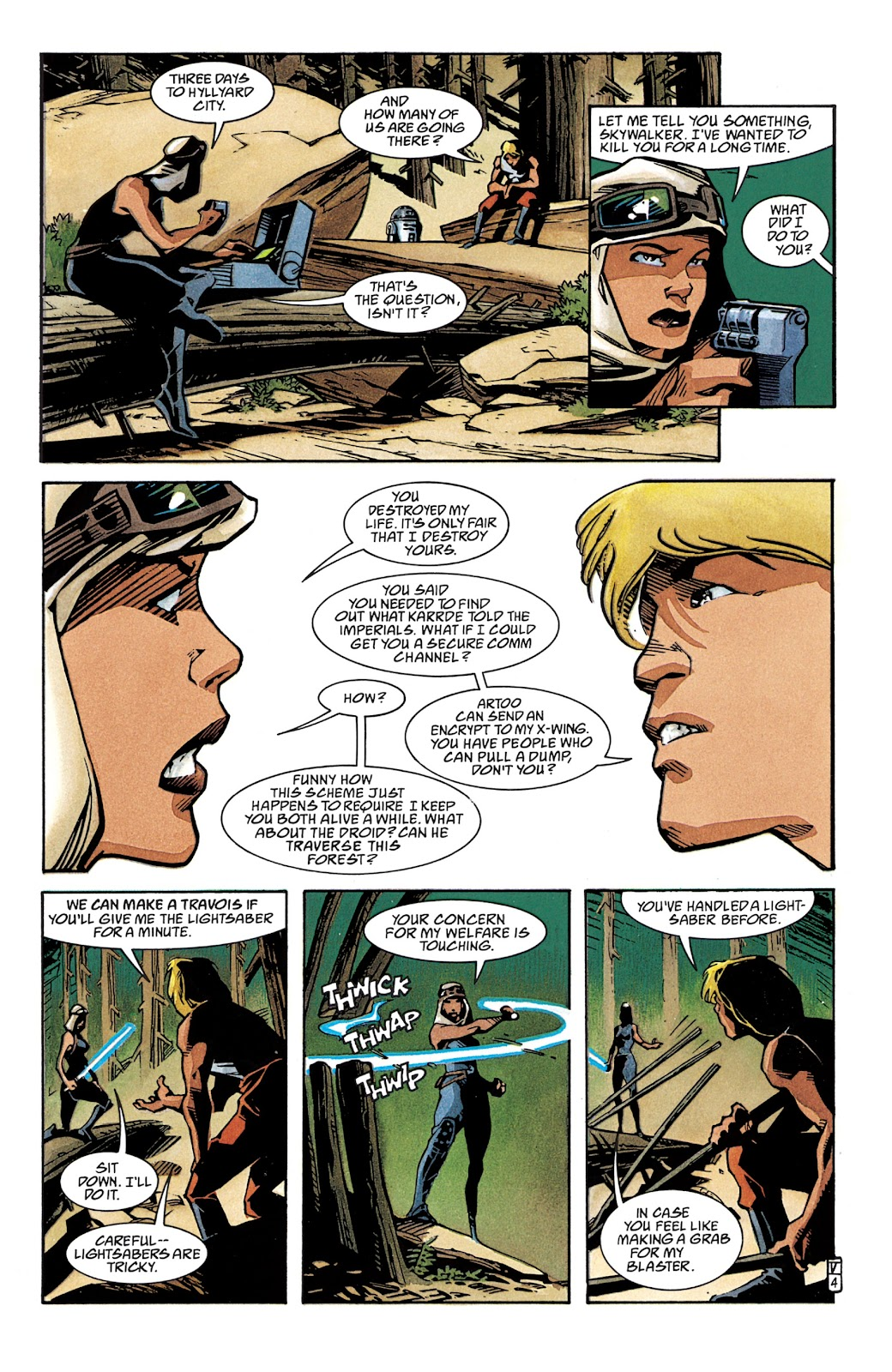 Read online Star Wars Legends: The New Republic - Epic Collection comic -  Issue # TPB 4 (Part 2) - 5
