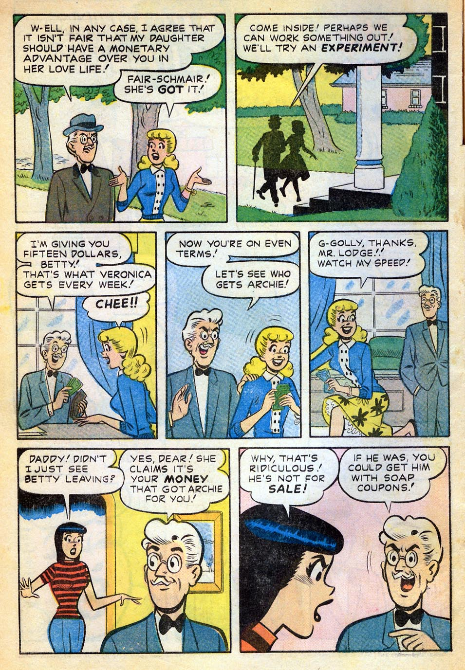 Read online Archie's Girls Betty and Veronica comic -  Issue #51 - 3